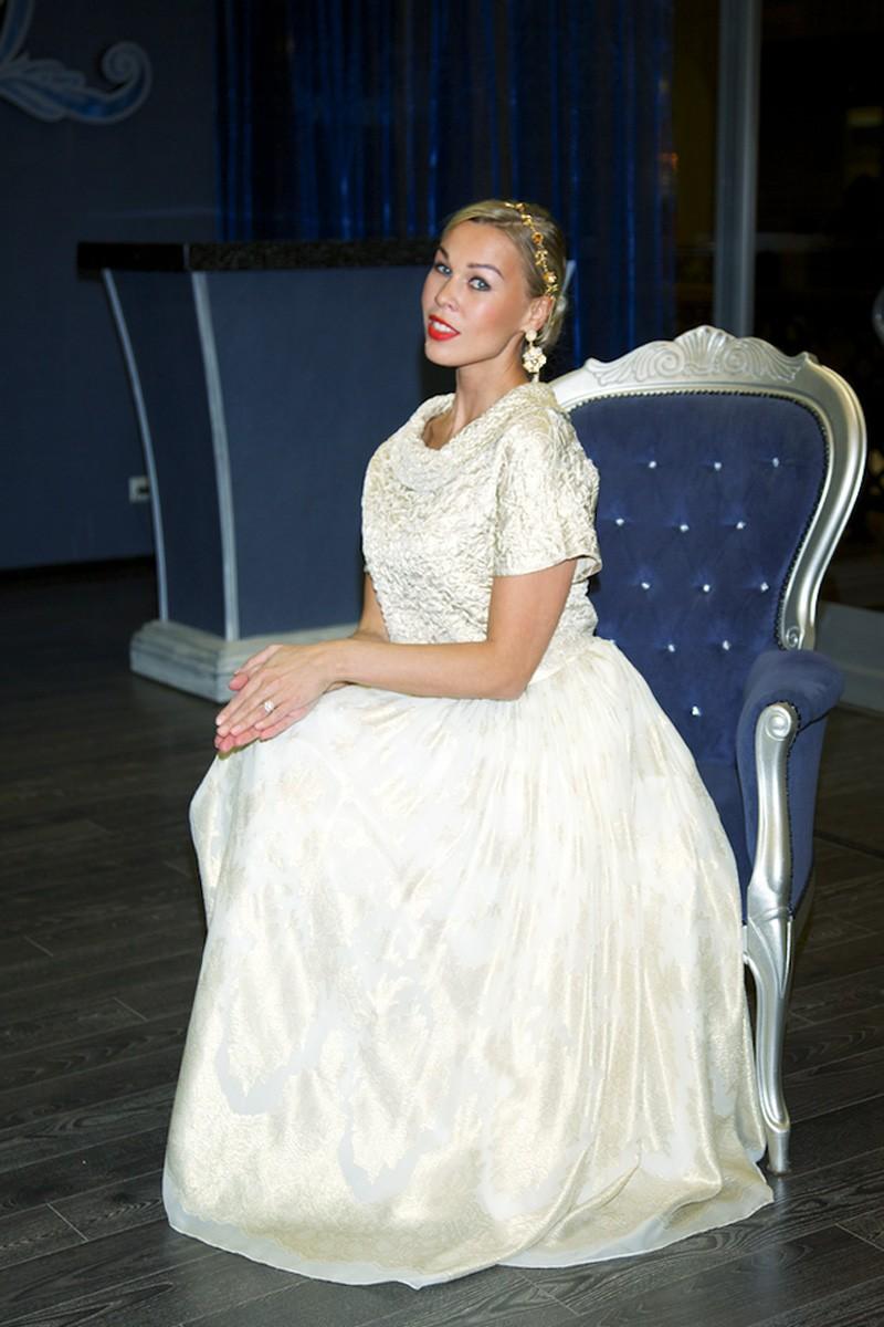 свадебное платье от дизайнера Светланы Лялиной фото 8