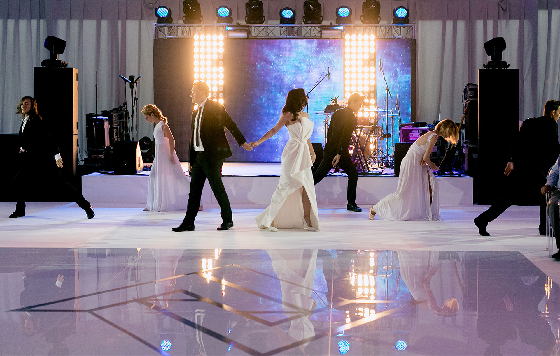 В отражении друг друга. Свадьба Андрея и Алины фото 12