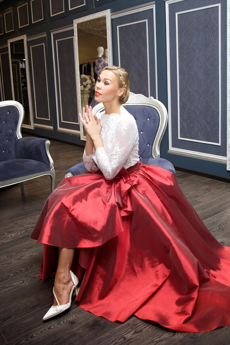 свадебное платье от дизайнера Светланы Лялиной фото 6