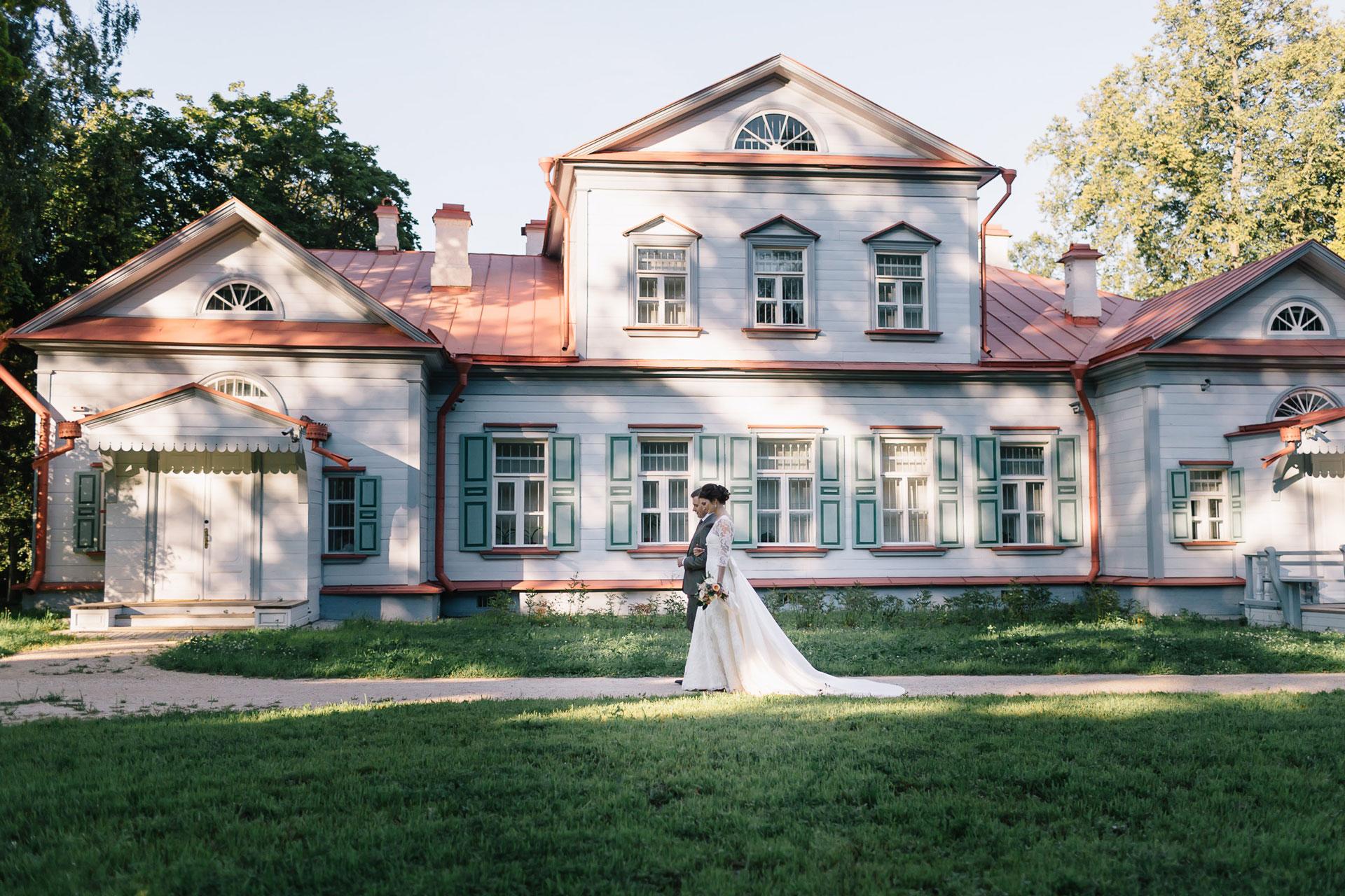 Русская усадьба. Свадьба Антона и Виктории