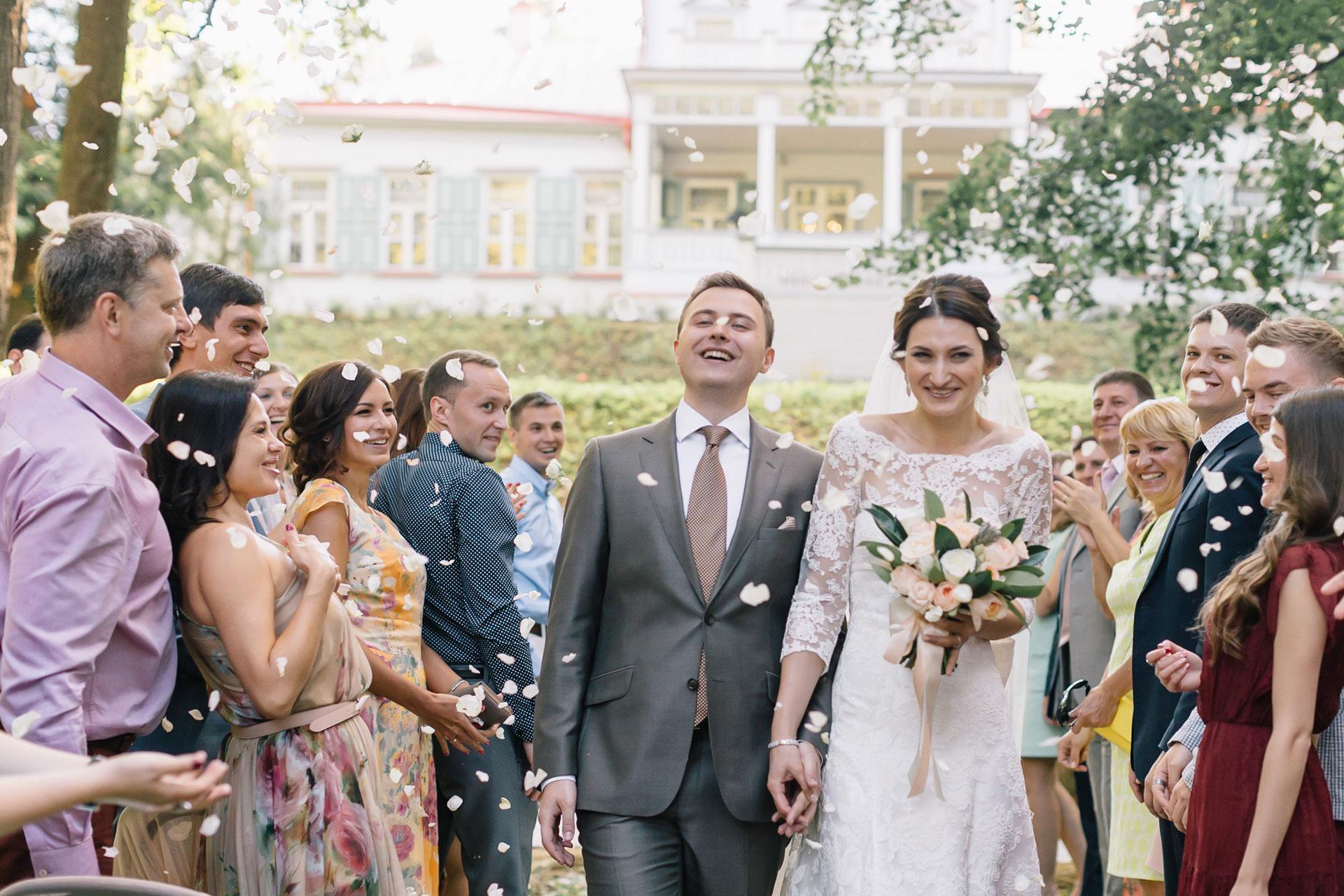 Русская усадьба. Свадьба Антона и Виктории фото 20