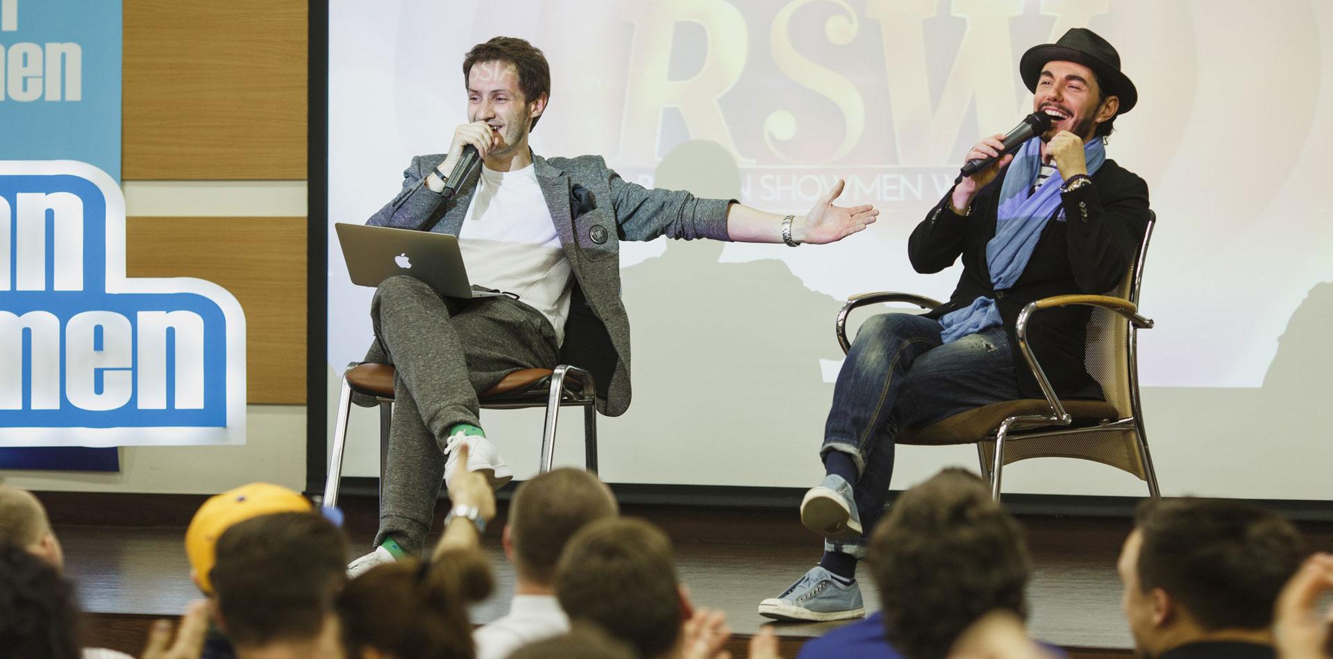 Ведущий Илья Глебов: все о Russian Showmen Creative Week фото 2