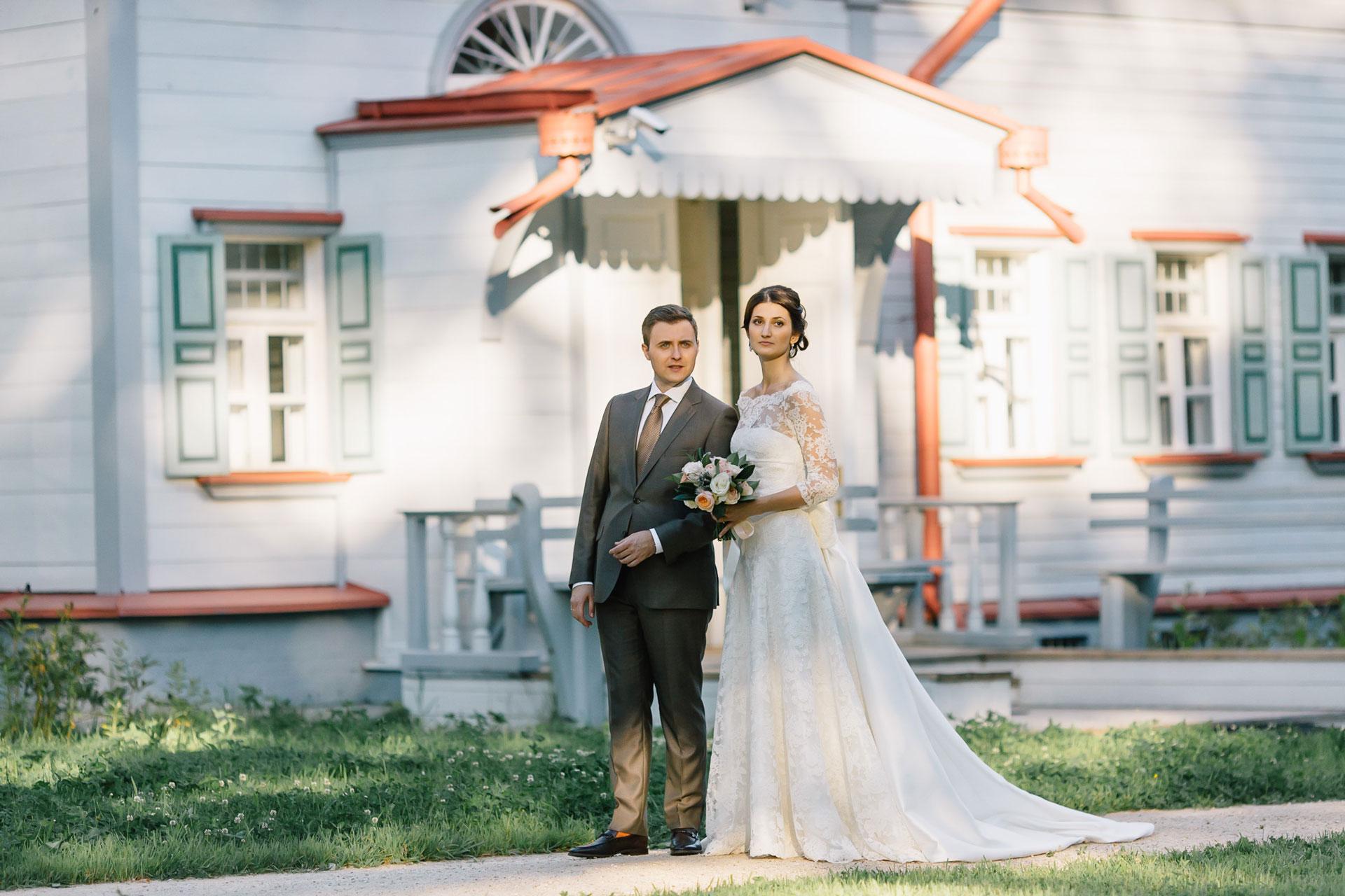 Русская усадьба. Свадьба Антона и Виктории фото 23