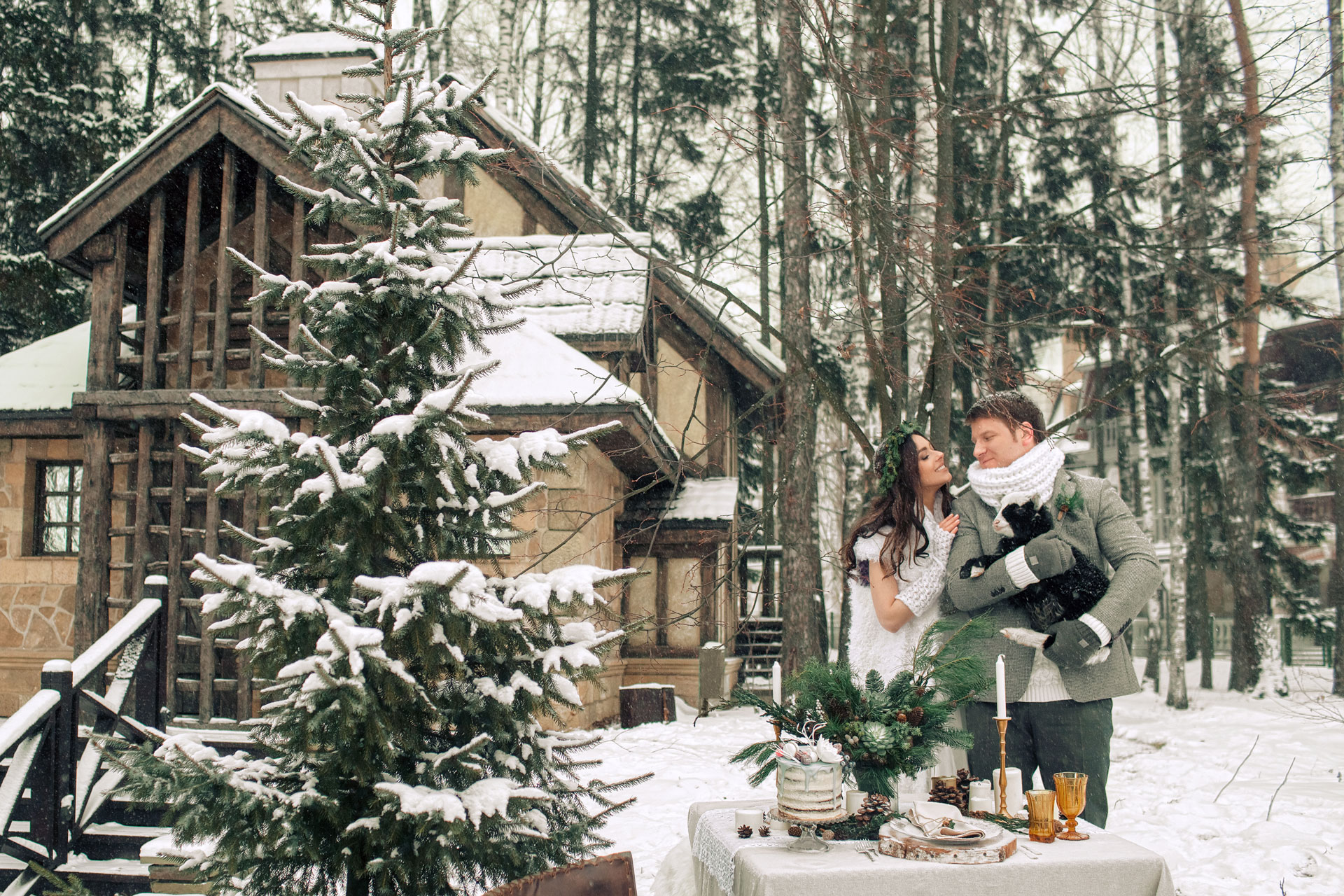 Загородный уют. свадебный образ фото 6