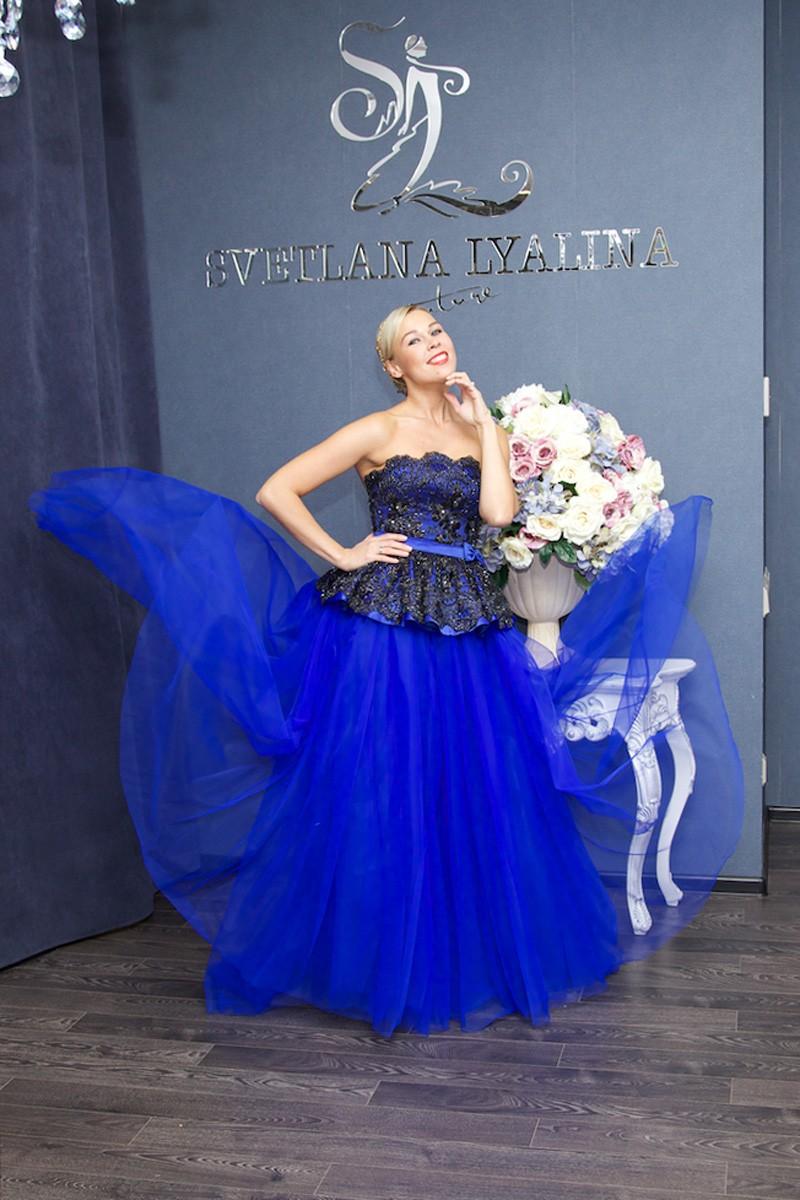 свадебное платье от дизайнера Светланы Лялиной фото 5