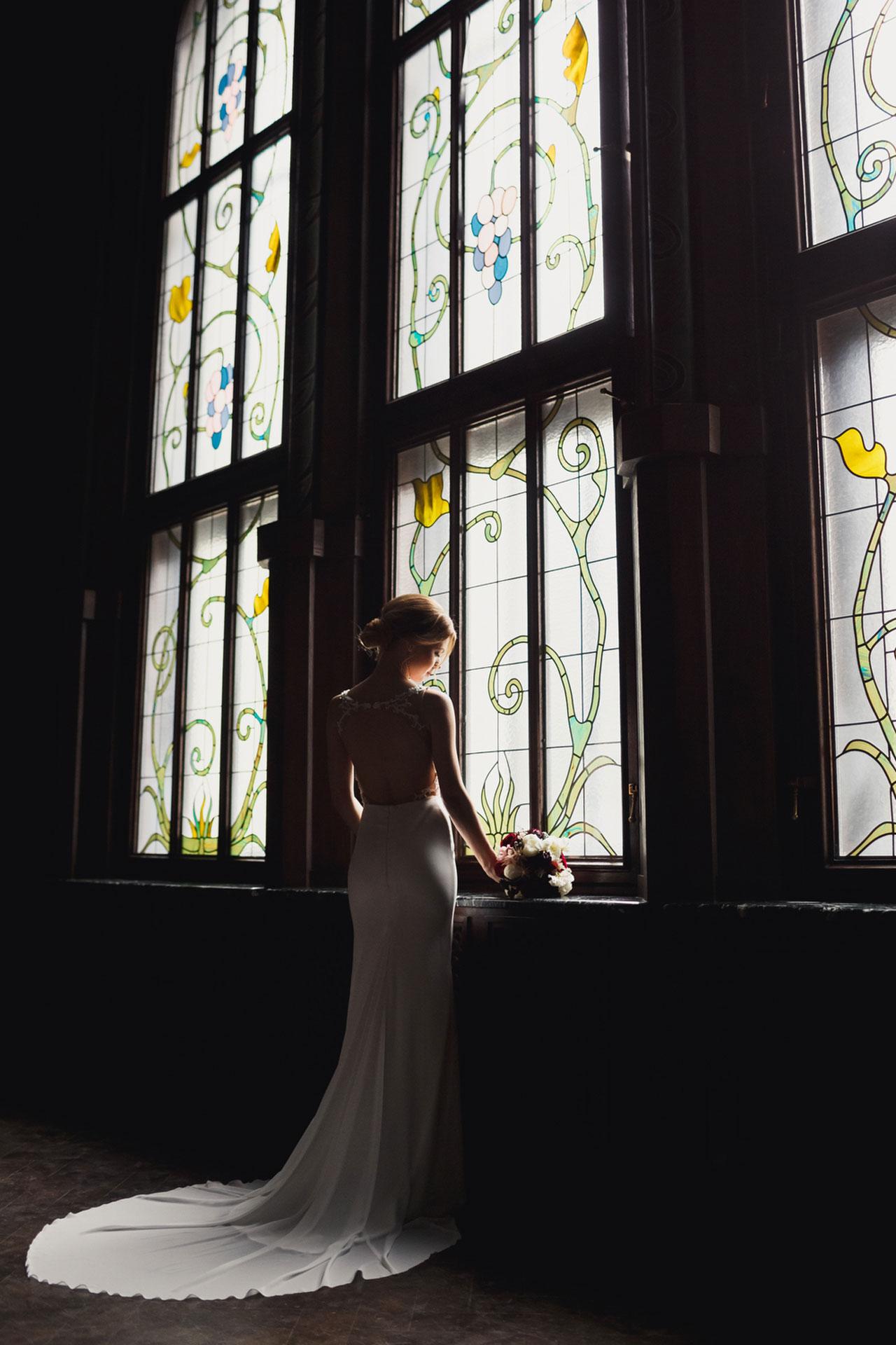 В цвете марсала. Свадьба Тимура и Екатерины фото 18