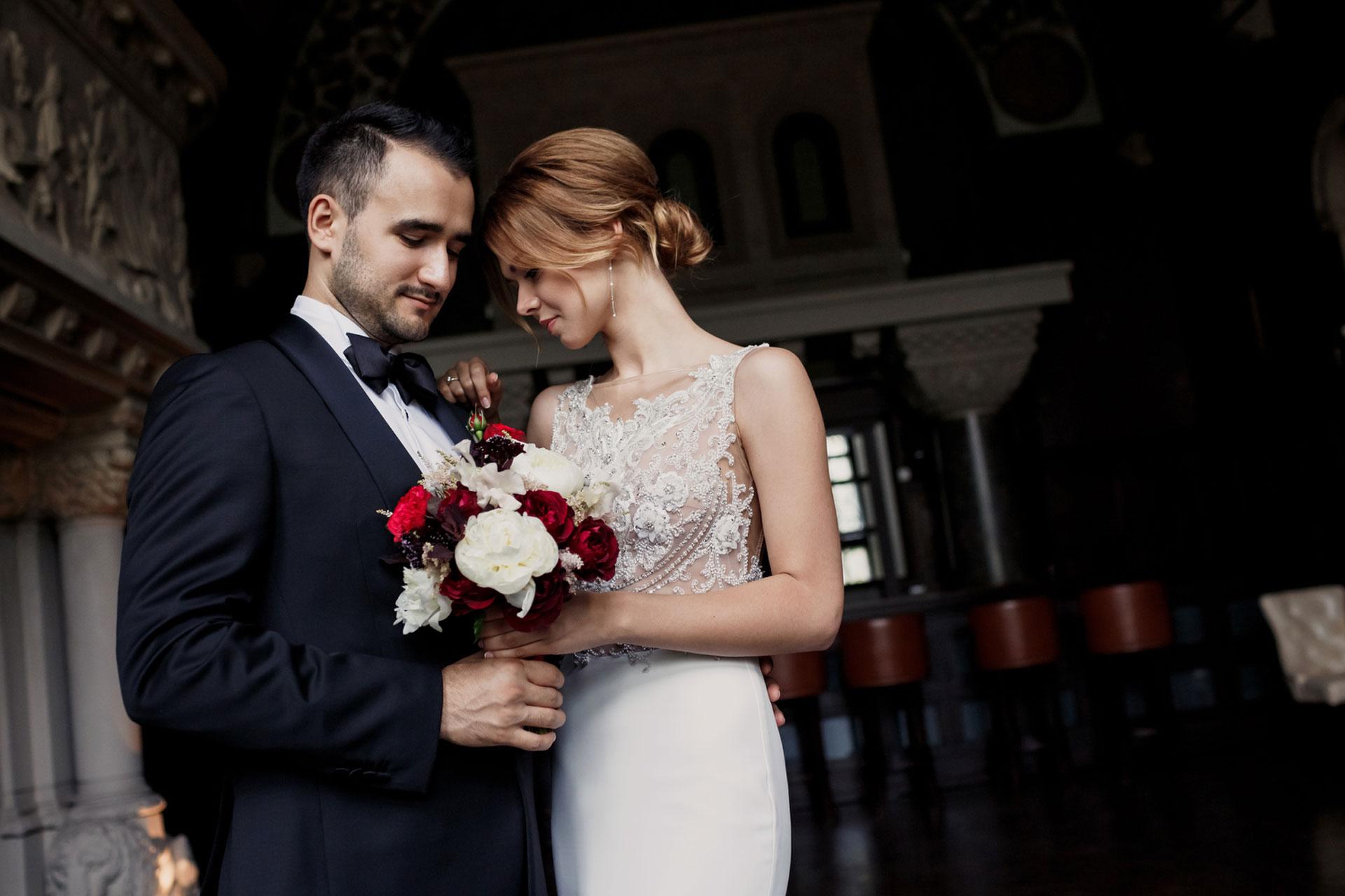 В цвете марсала. Свадьба Тимура и Екатерины