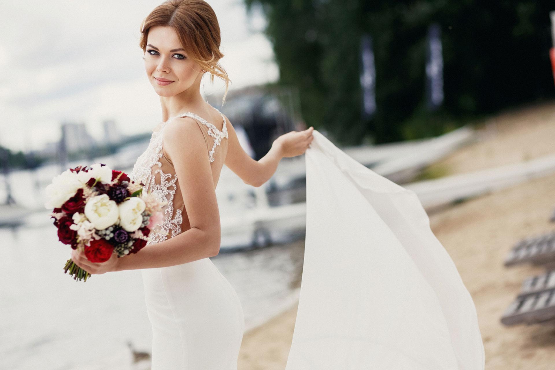 В цвете марсала. Свадьба Тимура и Екатерины фото 1
