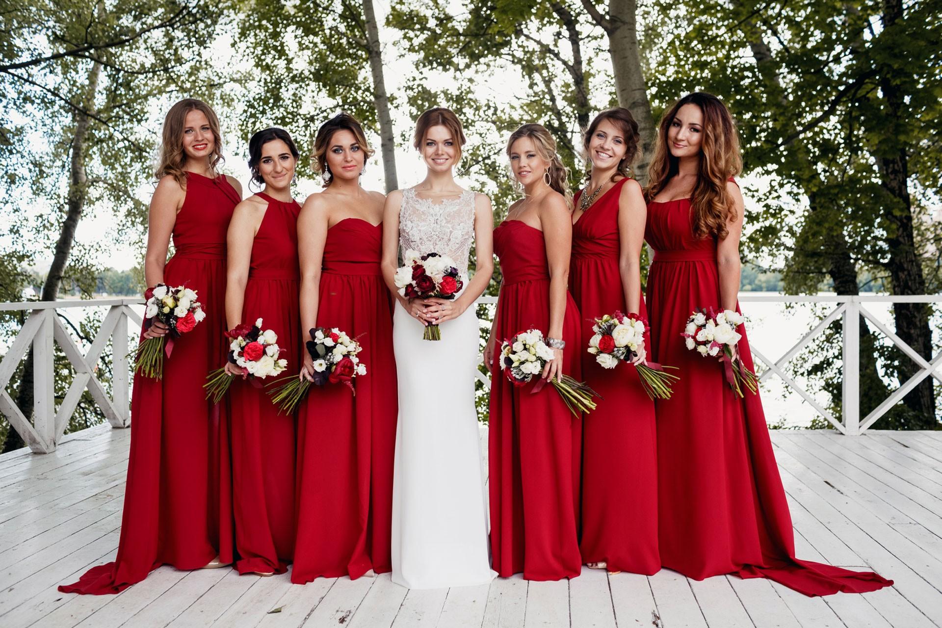 В цвете марсала. Свадьба Тимура и Екатерины фото 23