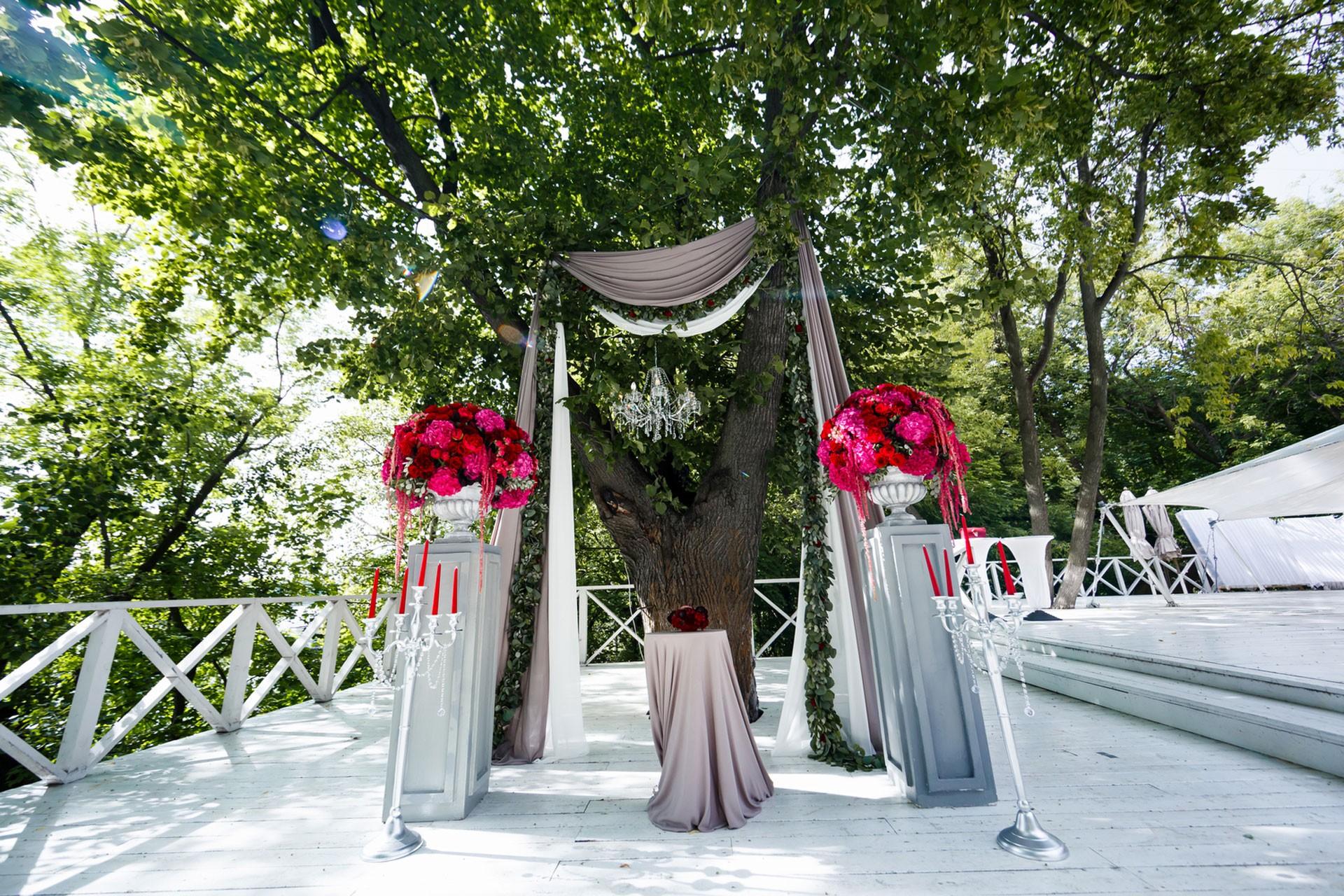 В цвете марсала. Свадьба Тимура и Екатерины фото 5