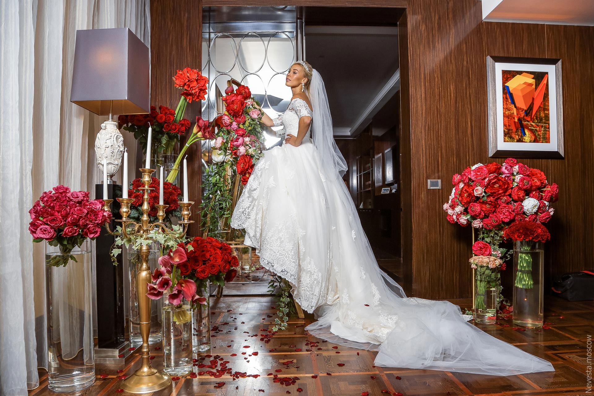 A la Cartier. Свадьба Ксении Афанасьевой фото 28