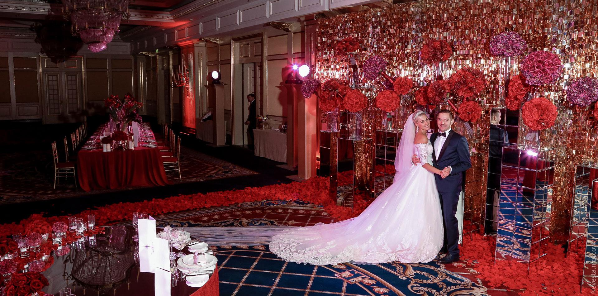 A la Cartier. Свадьба Ксении Афанасьевой фото 25