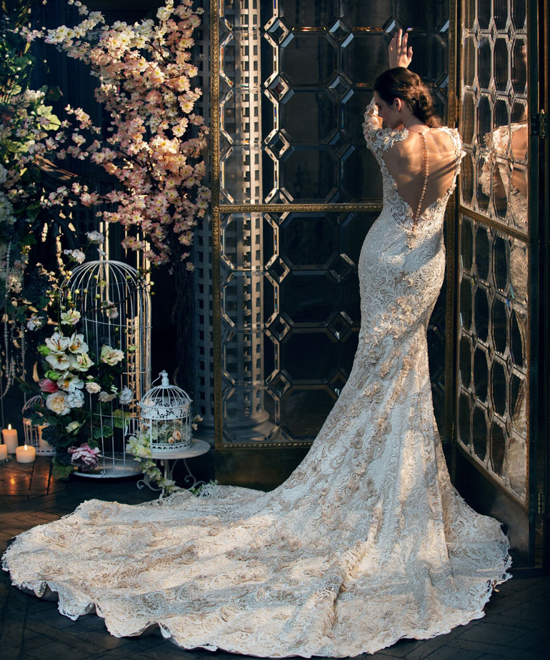свадебное платье от дизайнера Светланы Лялиной