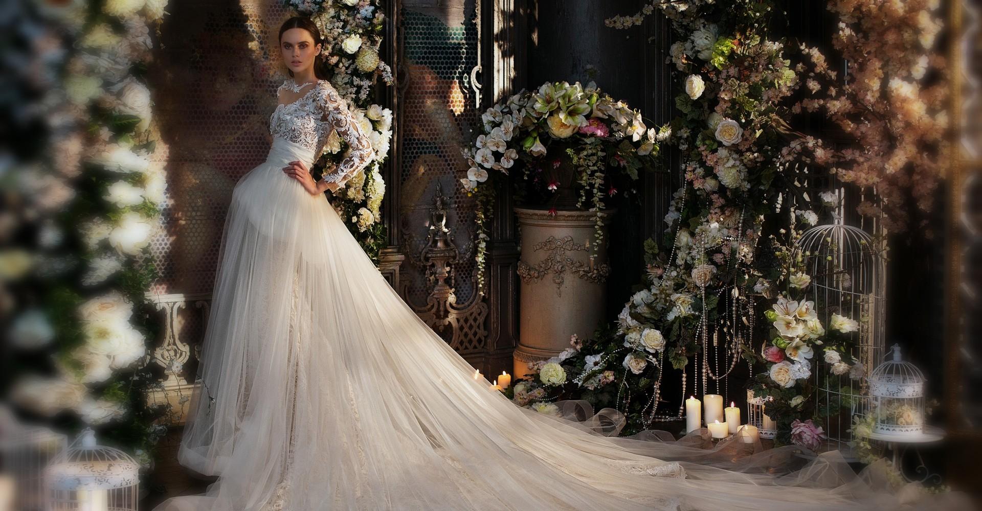 свадебное платье от дизайнера Светланы Лялиной фото 9