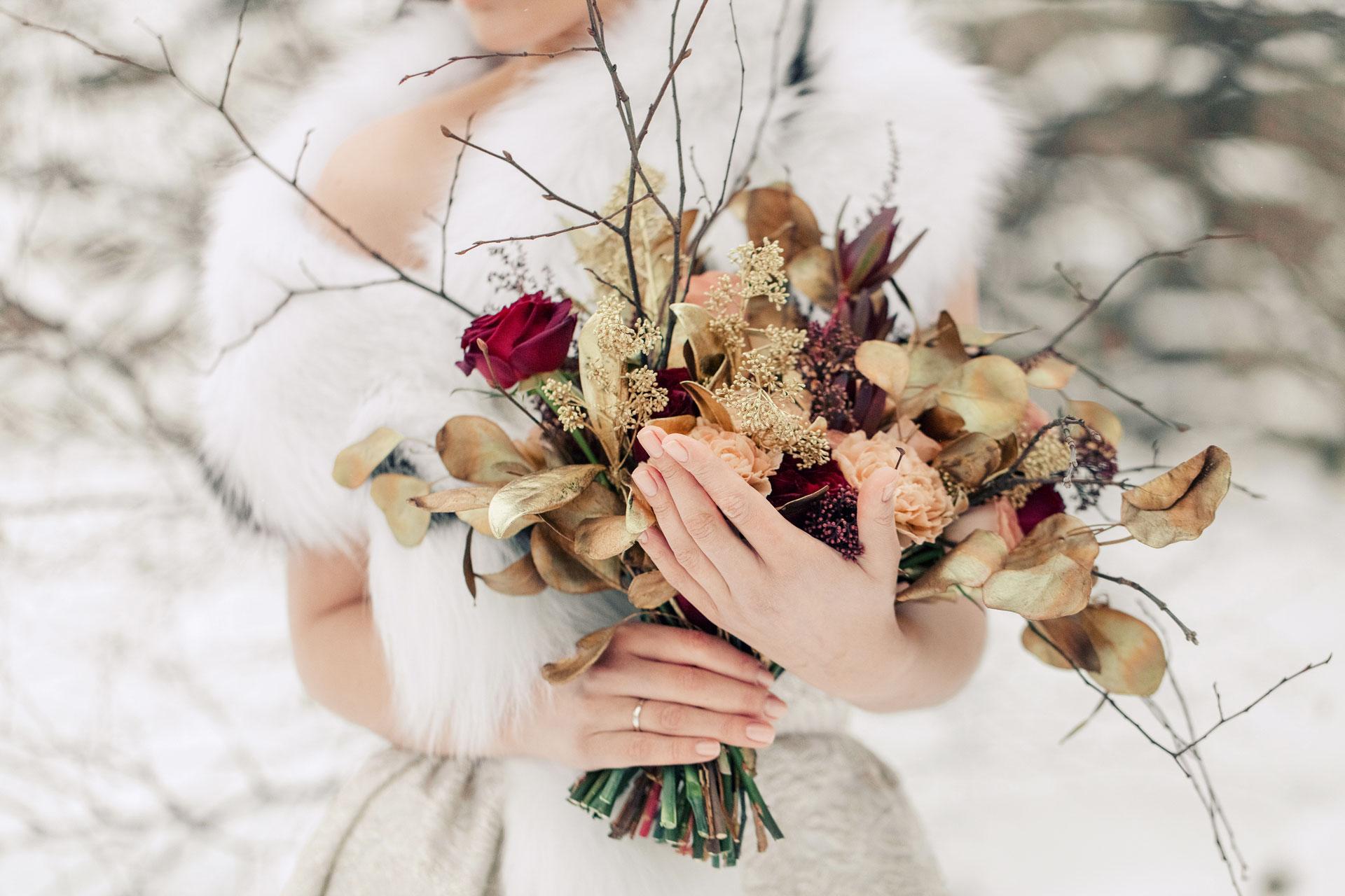 Современное барокко, образ невесты, фото 8