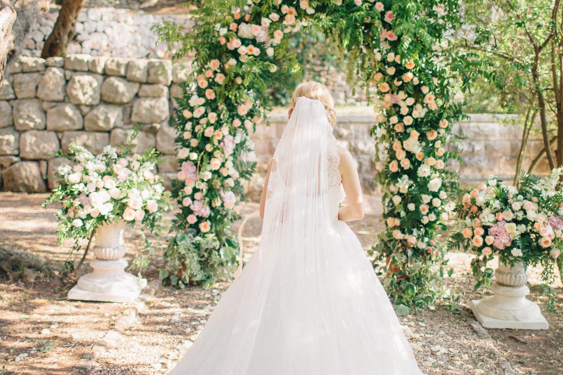 Роскошная вилла в Черногории. Свадьба Руслана и Оксаны фото 11