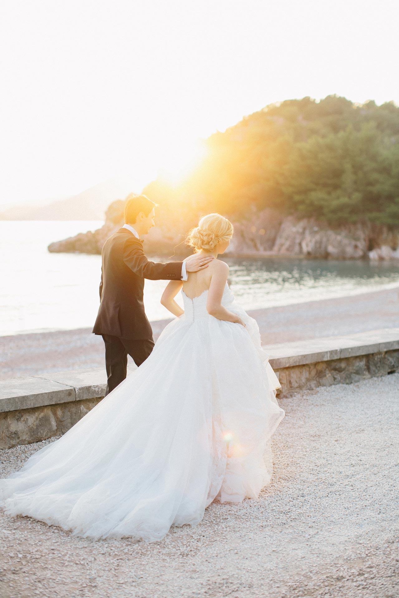 Роскошная вилла в Черногории. Свадьба Руслана и Оксаны фото 13