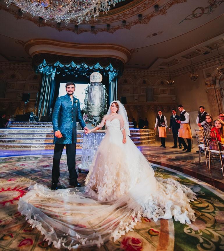 Свадьба Ксении Сябитовой и Андрея Снеткова фото 4
