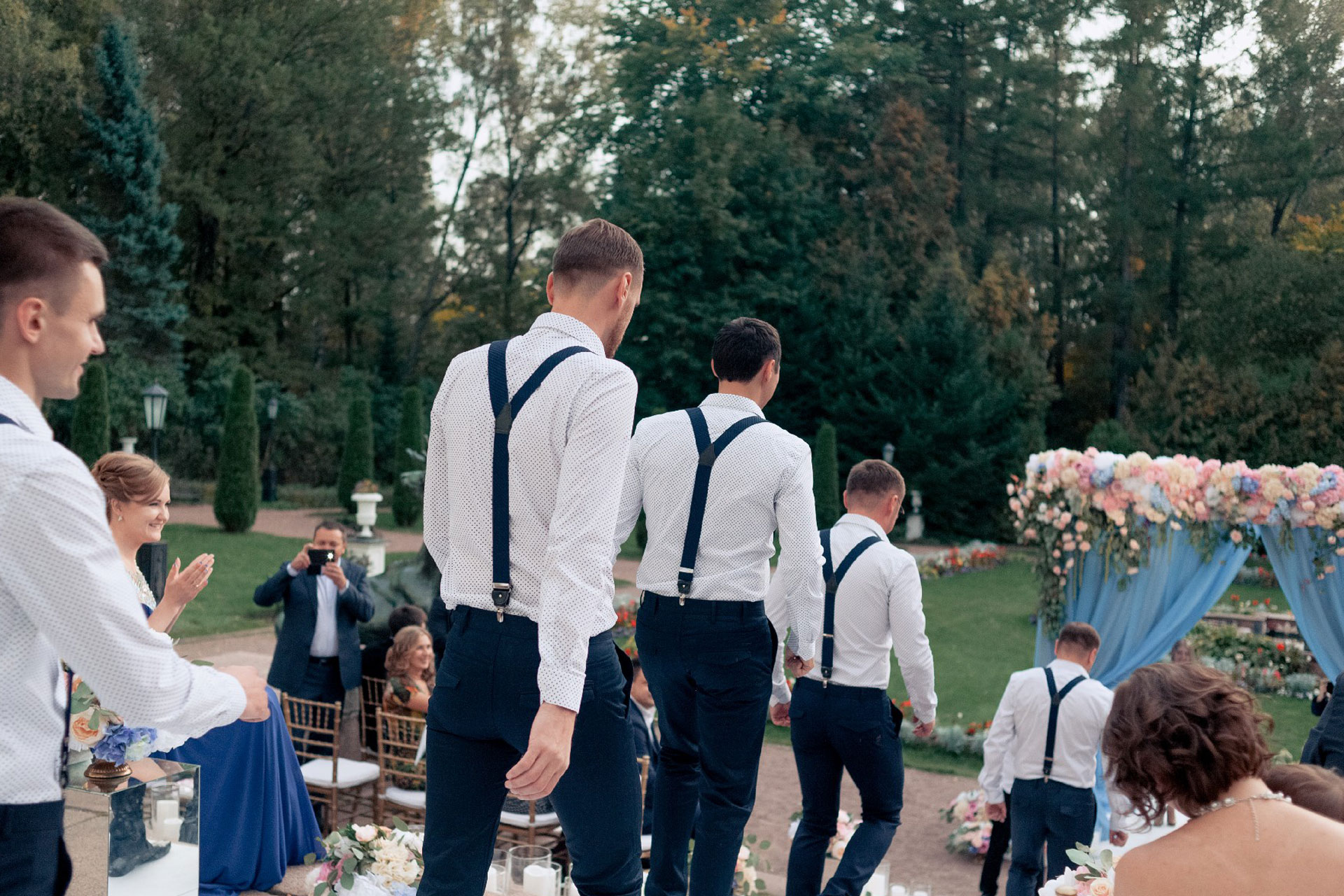 Модный приговор. Свадьба Антона и Ирины фото 14