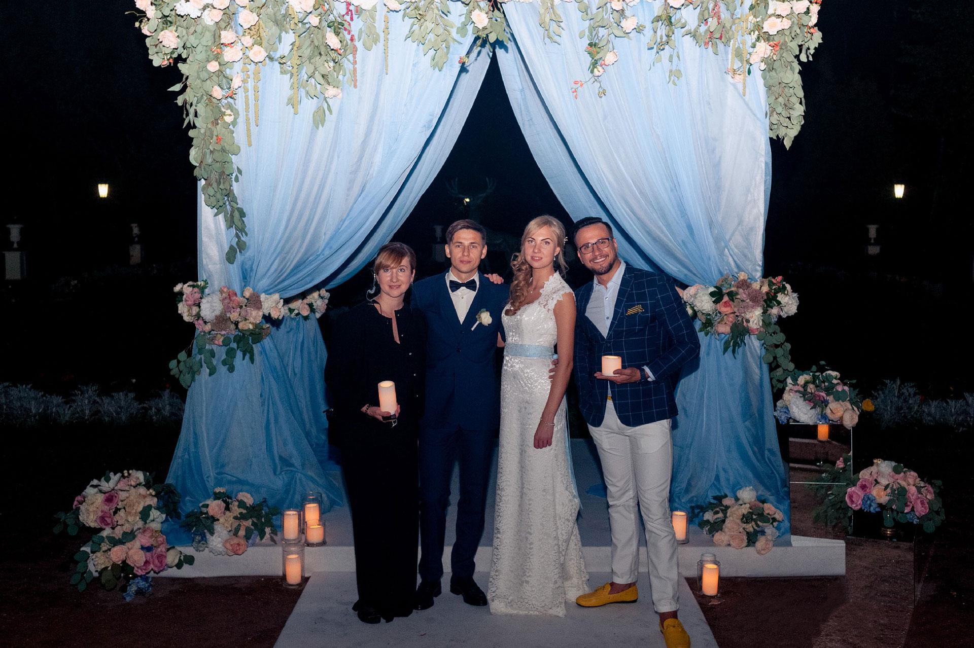 Модный приговор. Свадьба Антона и Ирины фото 30