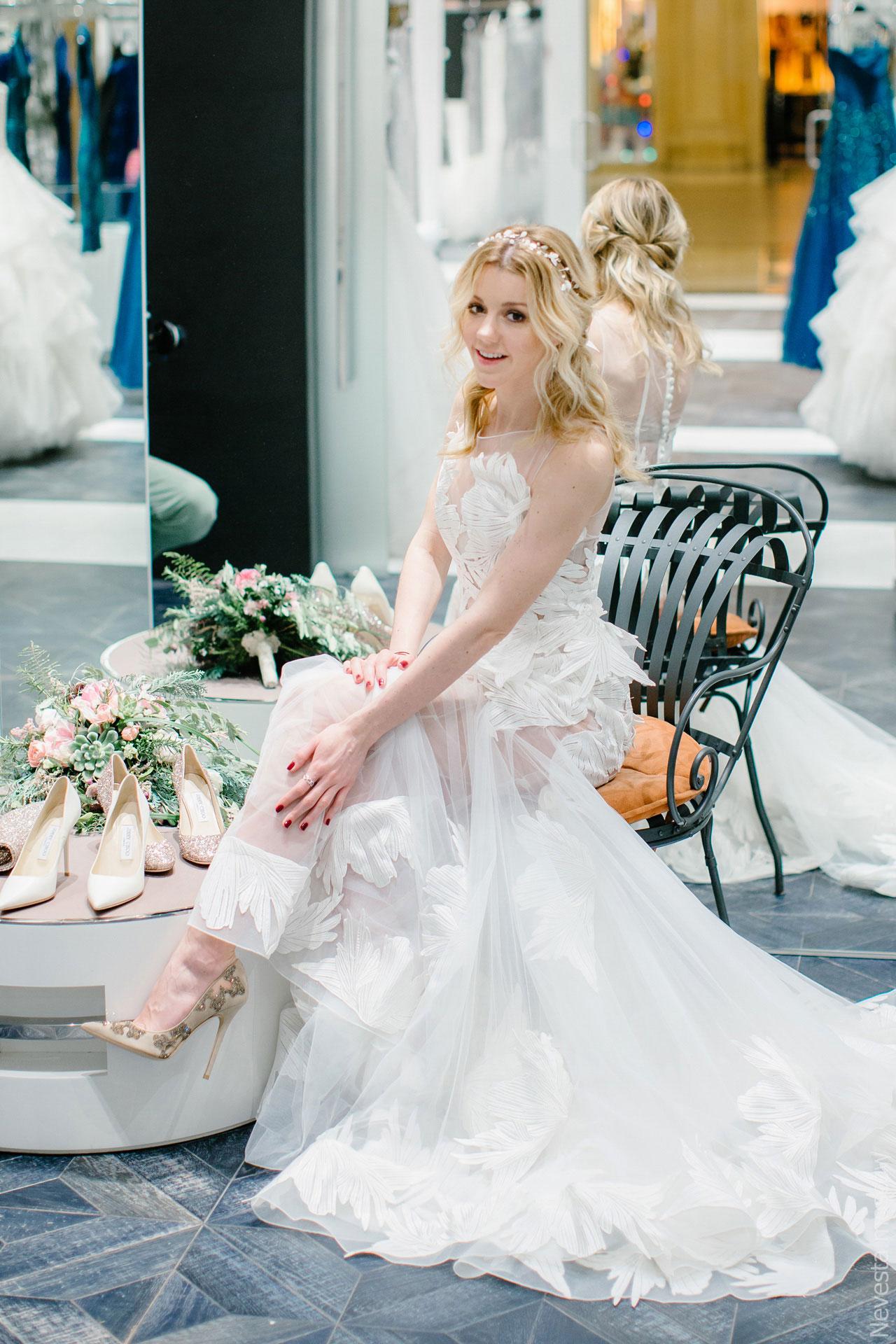 Репетиция свадебного образа фото 4