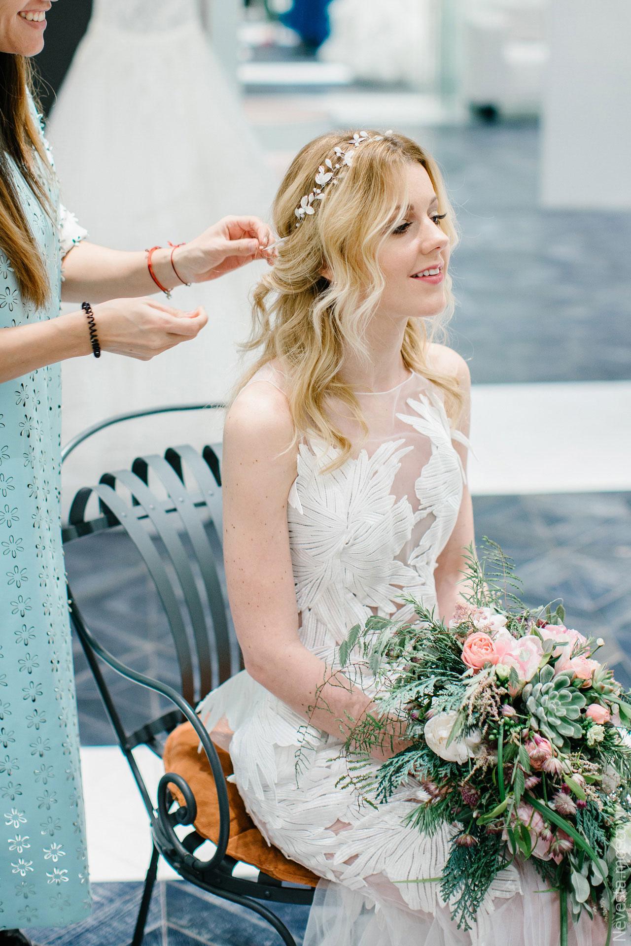 Репетиция свадебного образа фото 3