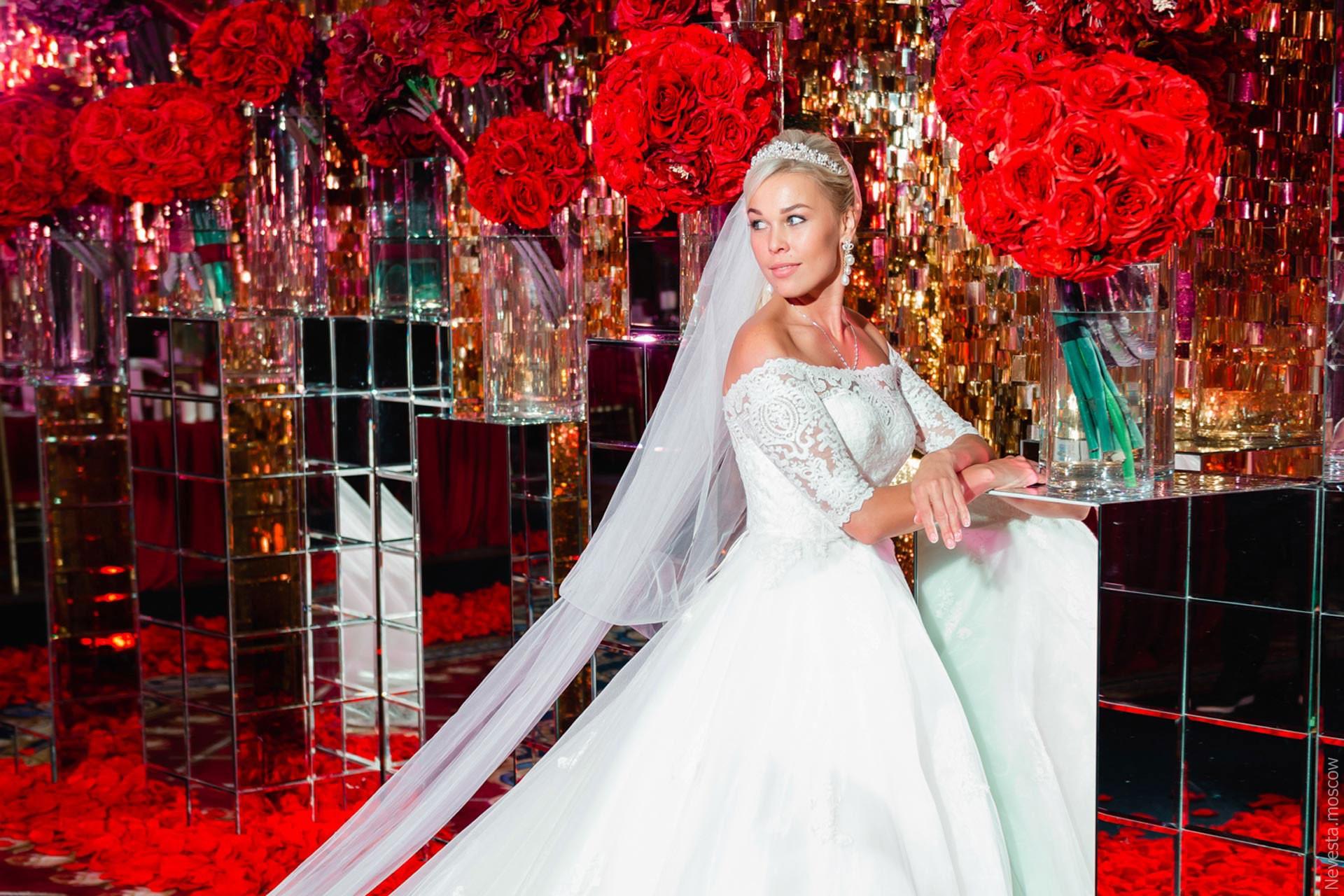 A la Cartier. Свадьба Ксении Афанасьевой фото 32
