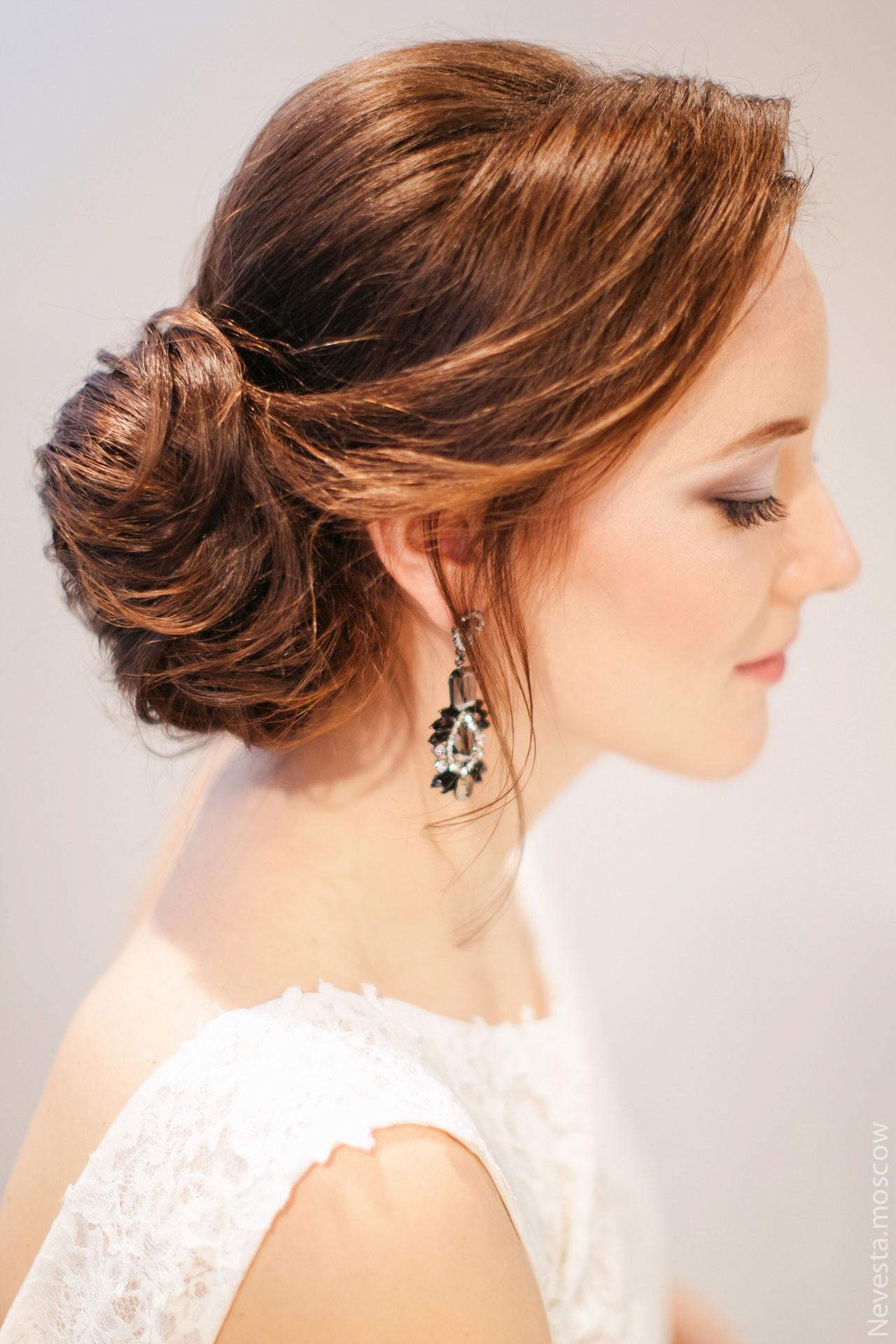 Макияж и прическа невесты фото 2