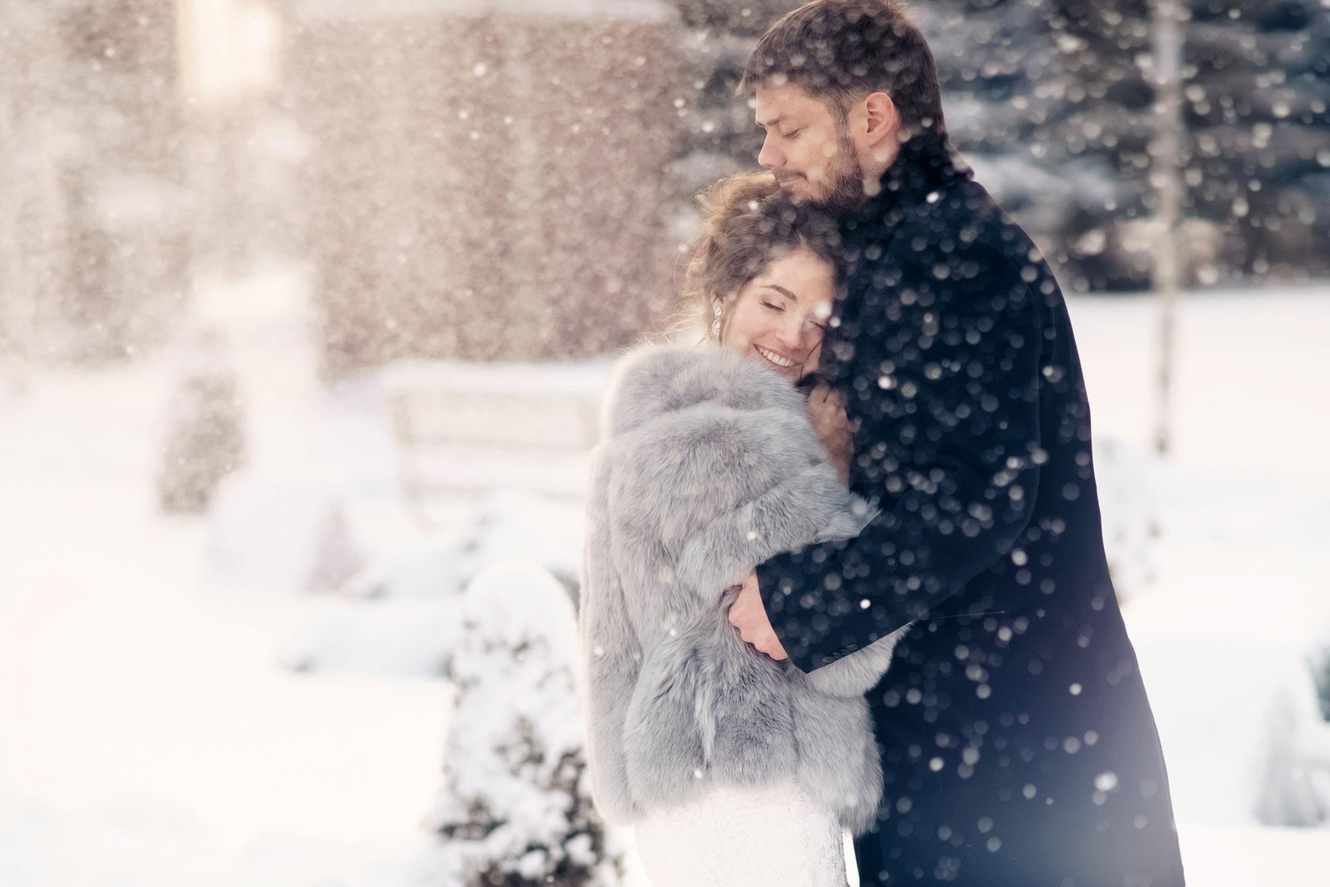 Январские цветы. Свадьба Павла и Александры фото 1