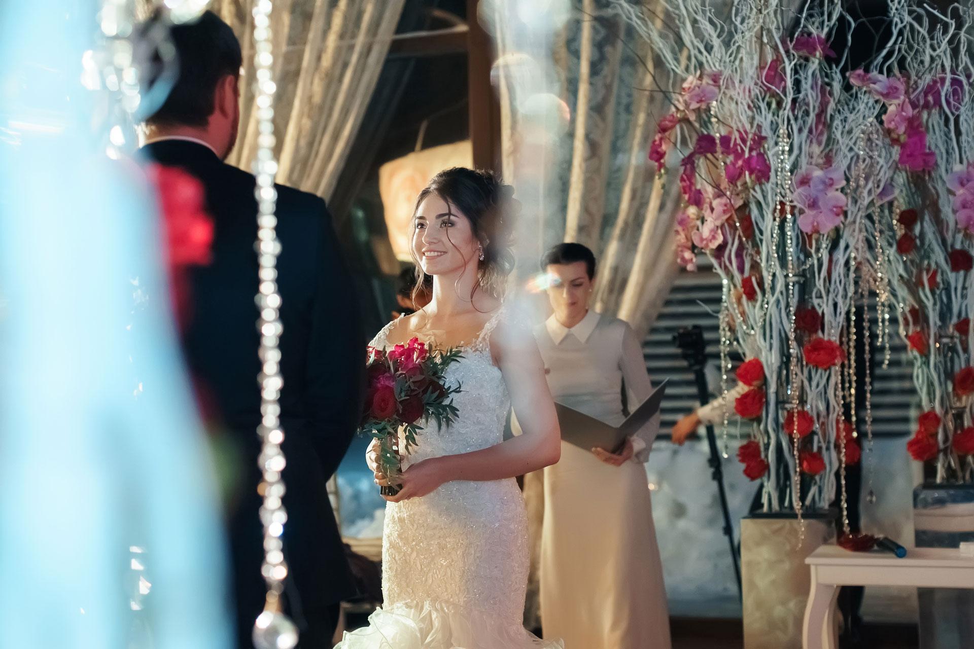 Январские цветы. Свадьба Павла и Александры фото 12