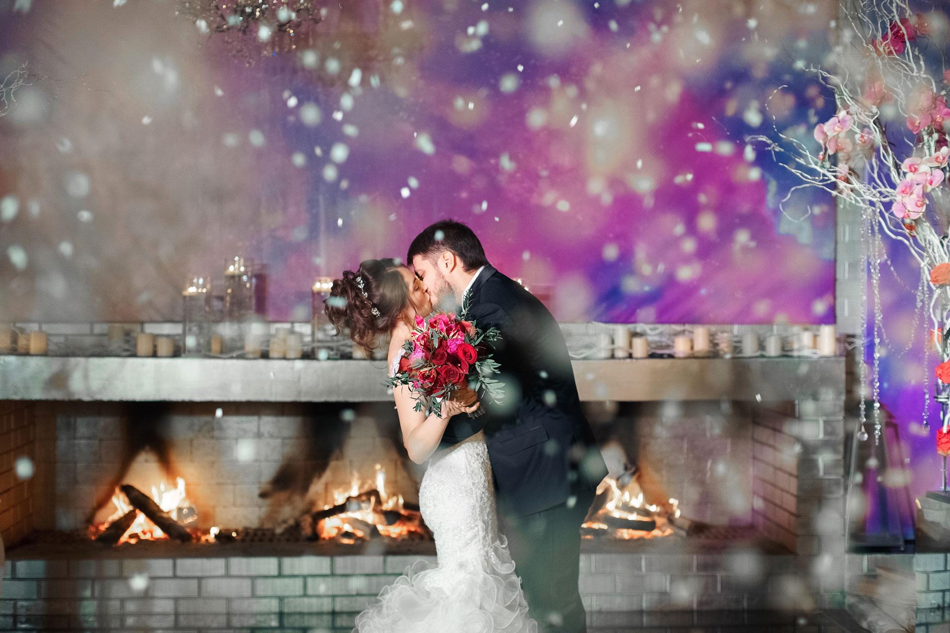 Январские цветы. Свадьба Павла и Александры фото 14