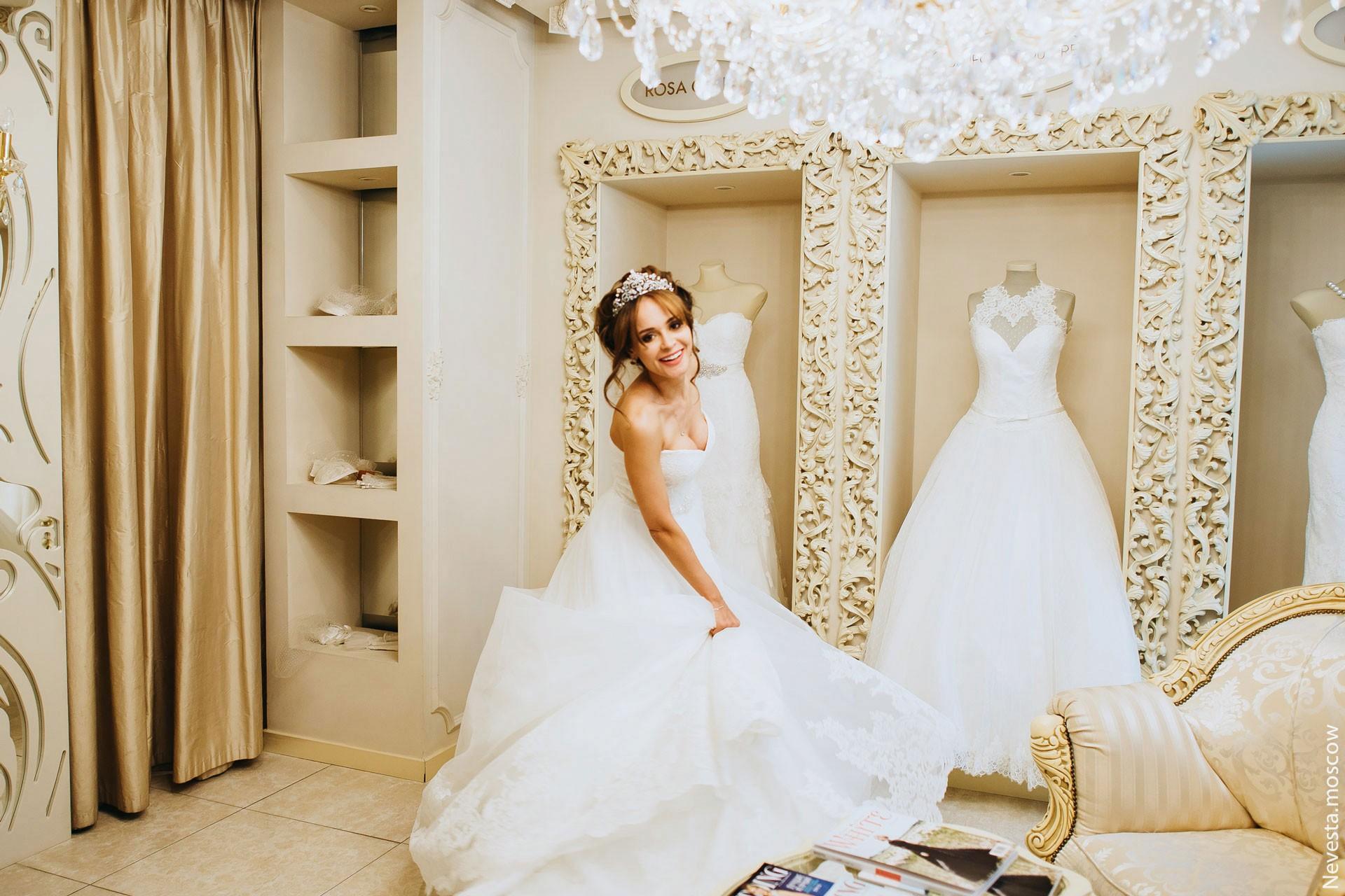 Анна Калашникова выбирает образ для своей свадьбы фото 41