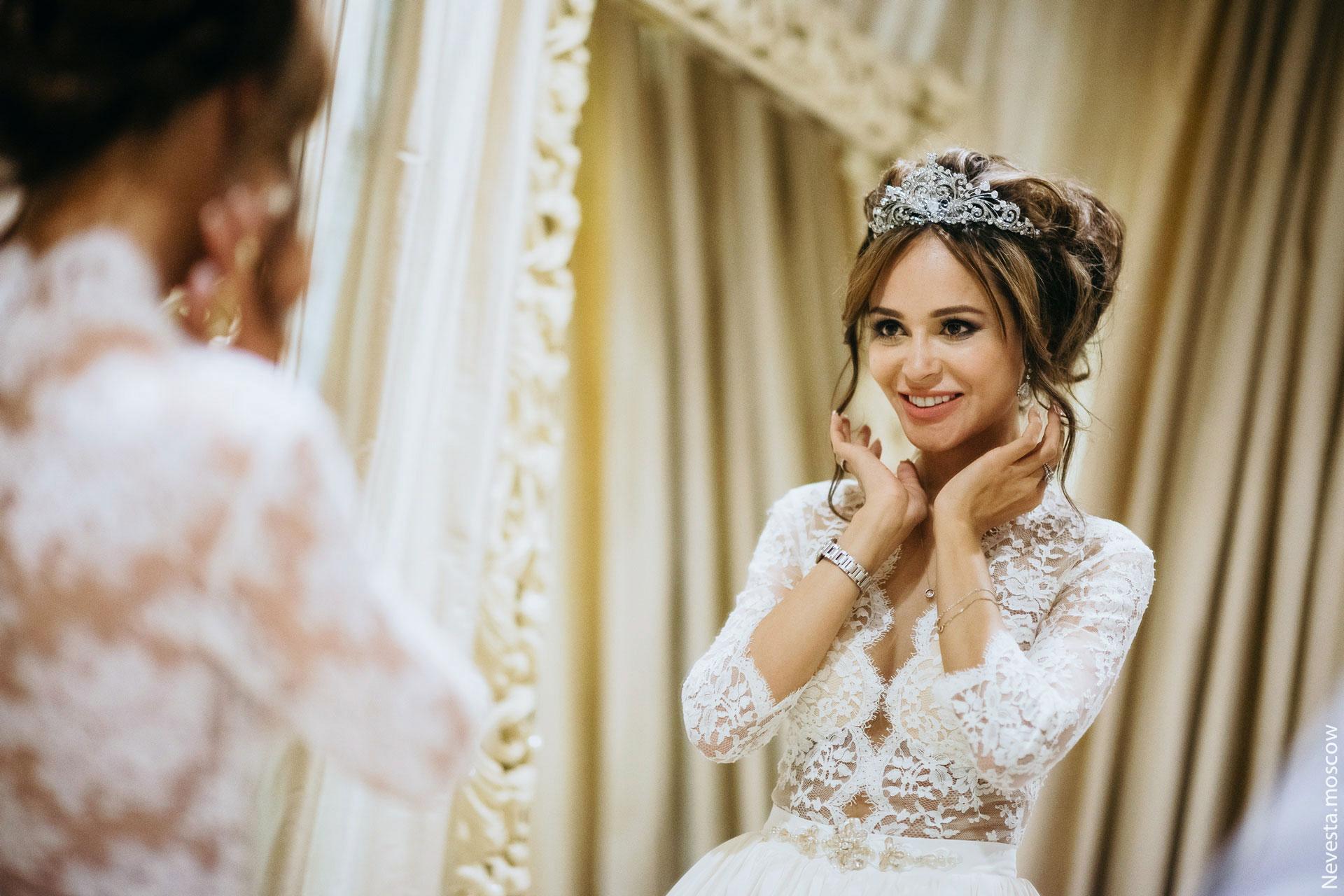 Анна Калашникова выбирает образ для своей свадьбы фото 32