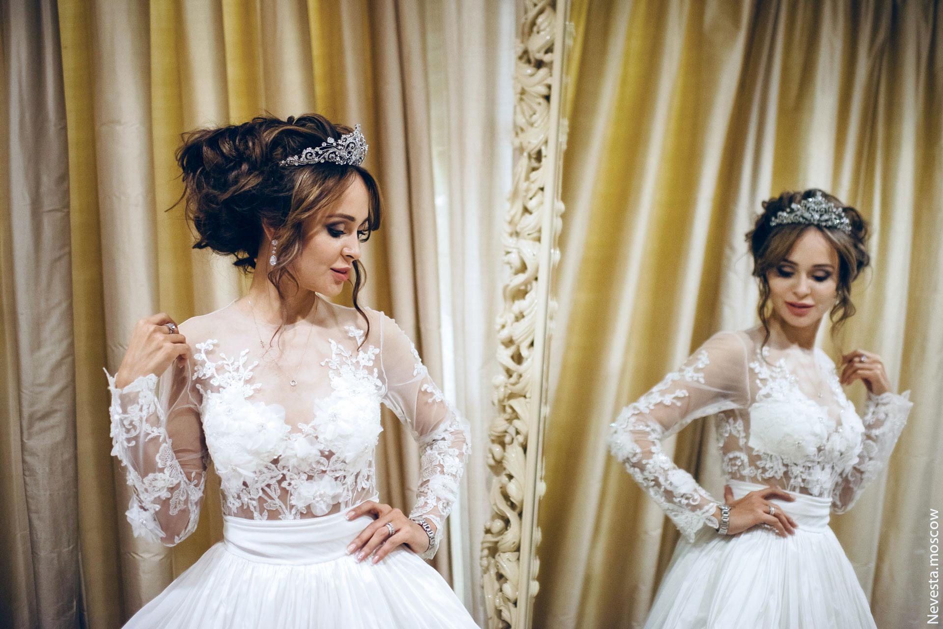 Анна Калашникова выбирает образ для своей свадьбы фото 33