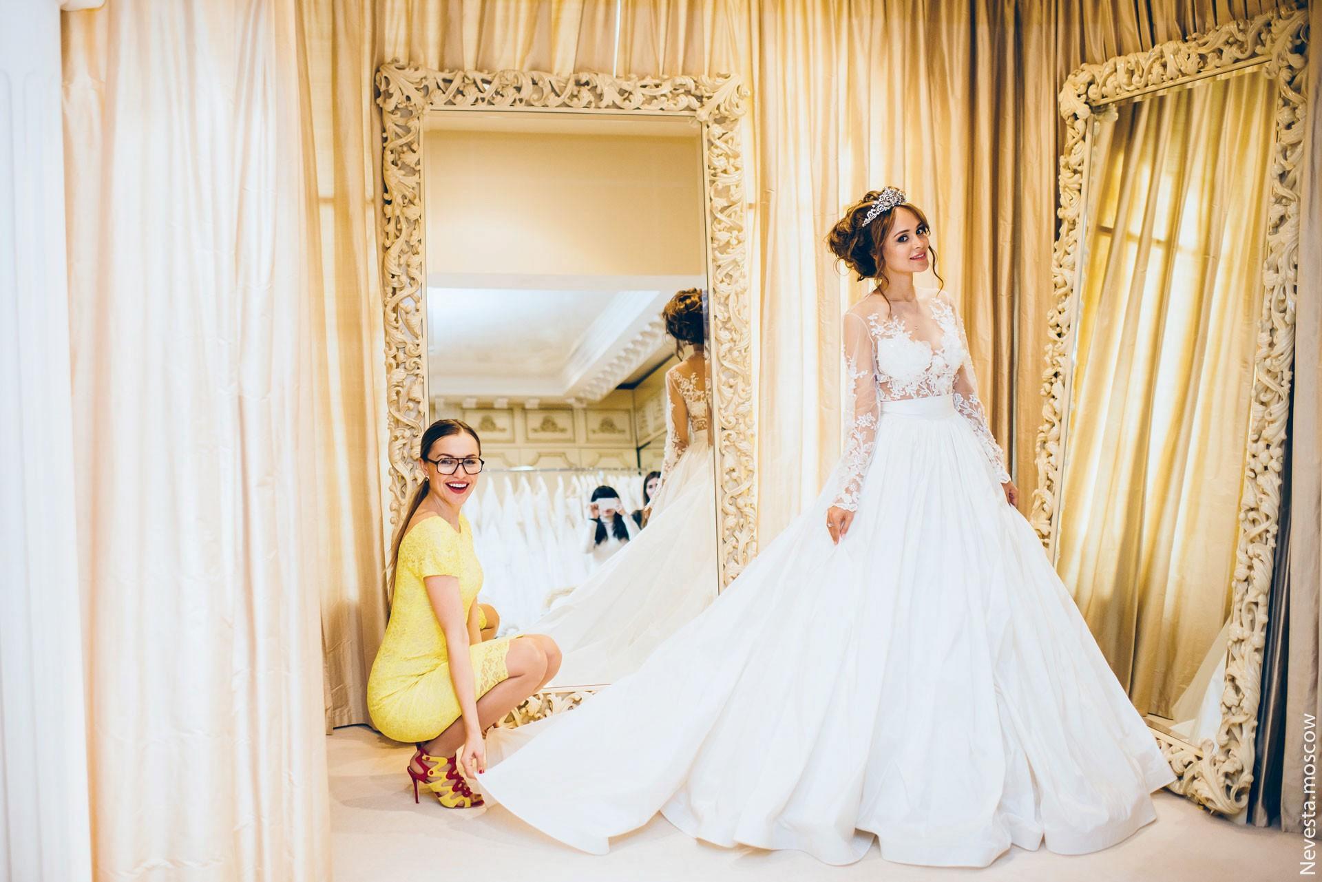 Анна Калашникова выбирает образ для своей свадьбы фото 36