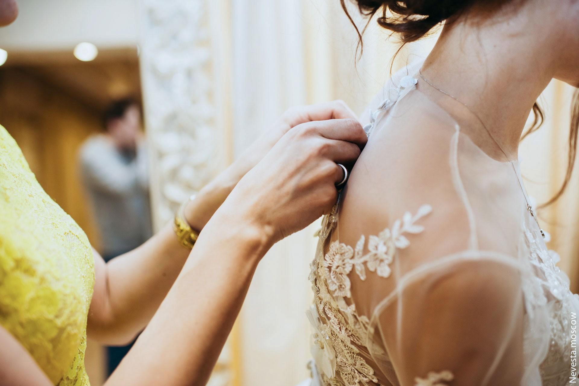 Анна Калашникова выбирает образ для своей свадьбы фото 42