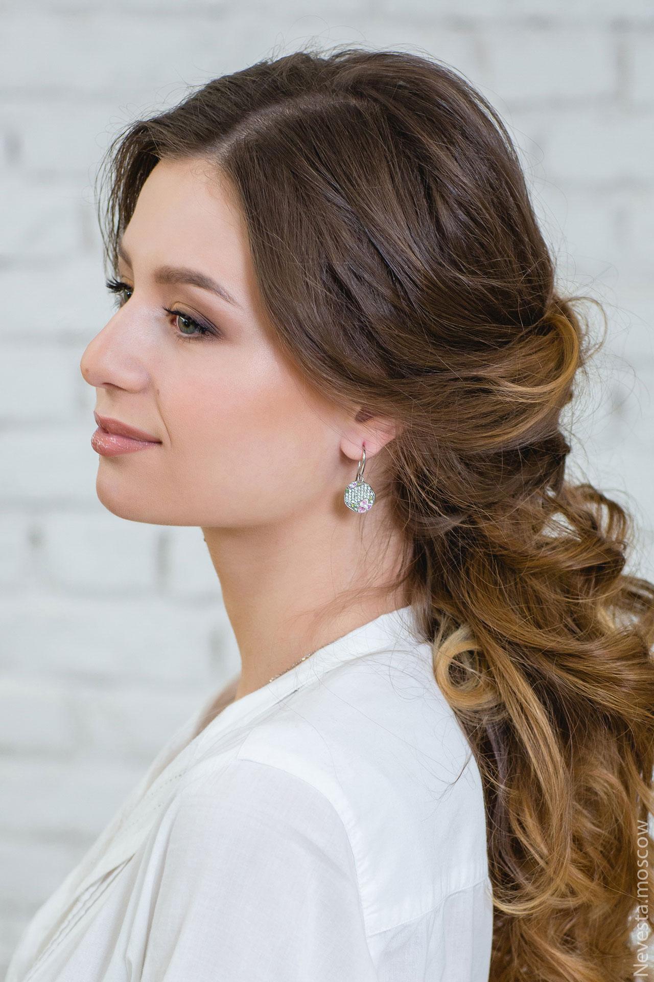 макияж для невесты свадебный образ фото 4