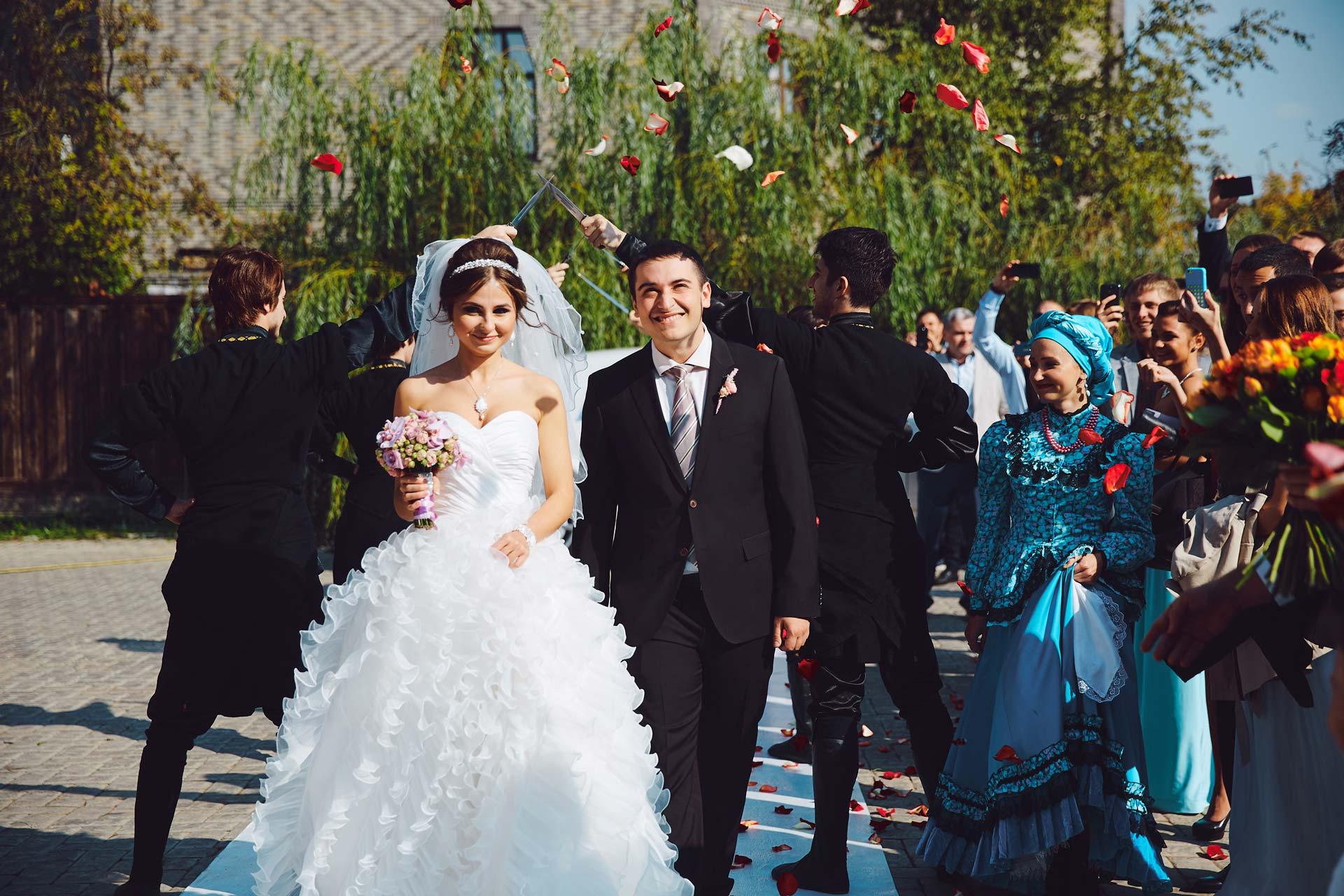 Мифология и национальные традиции. Свадьба Александра и Татьяны фото 11