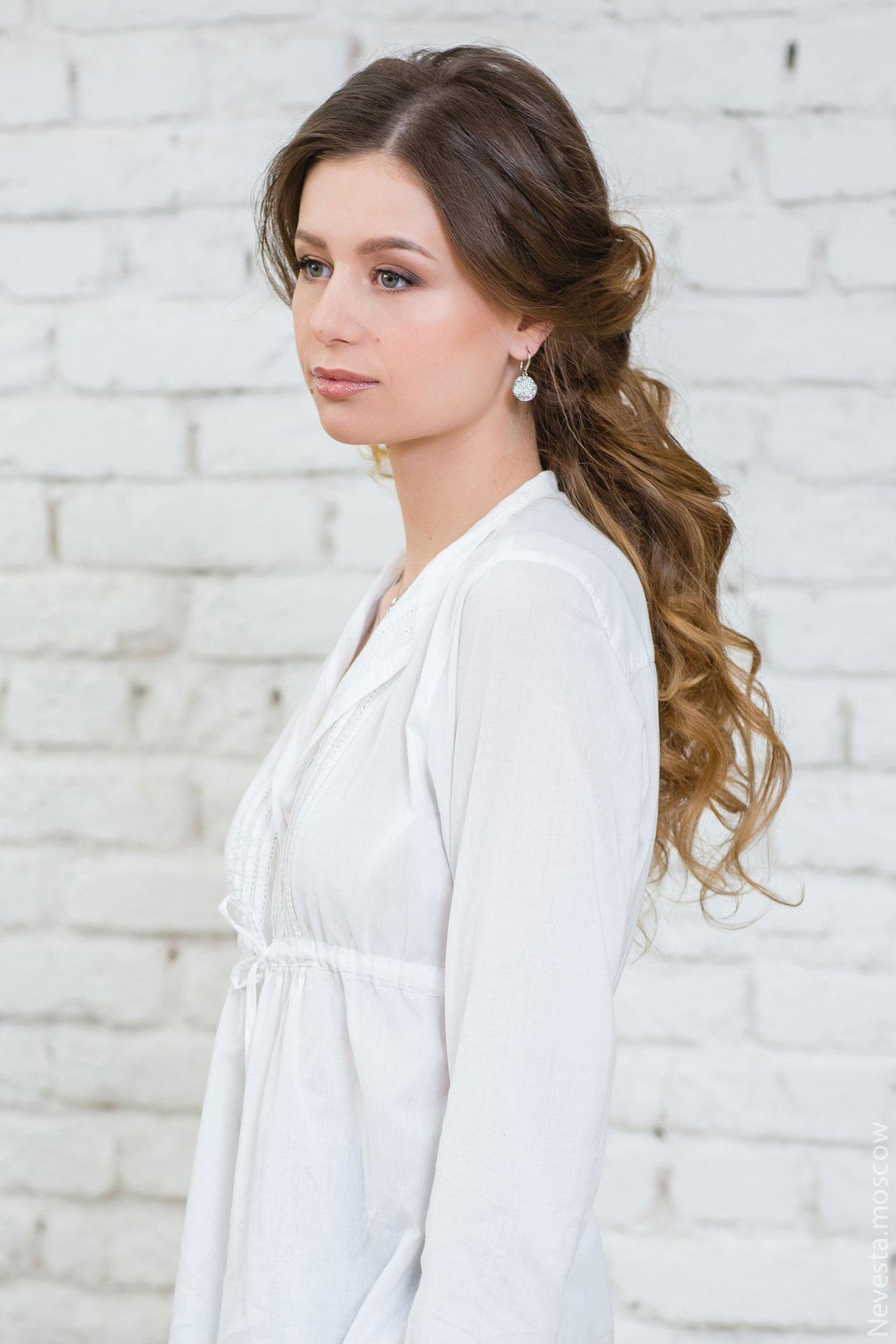 макияж для невесты свадебный образ фото 9
