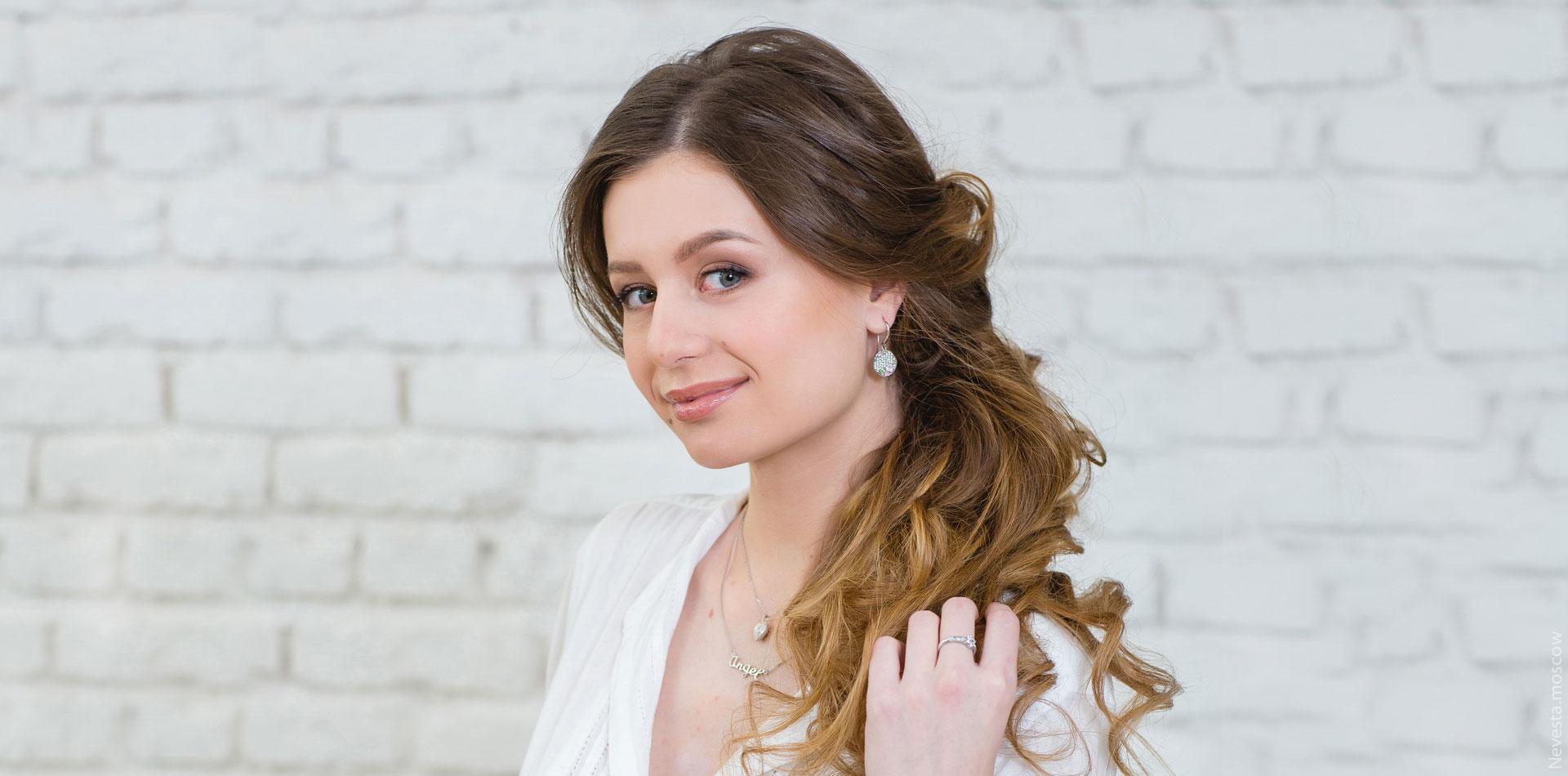 макияж для невесты свадебный образ фото 7