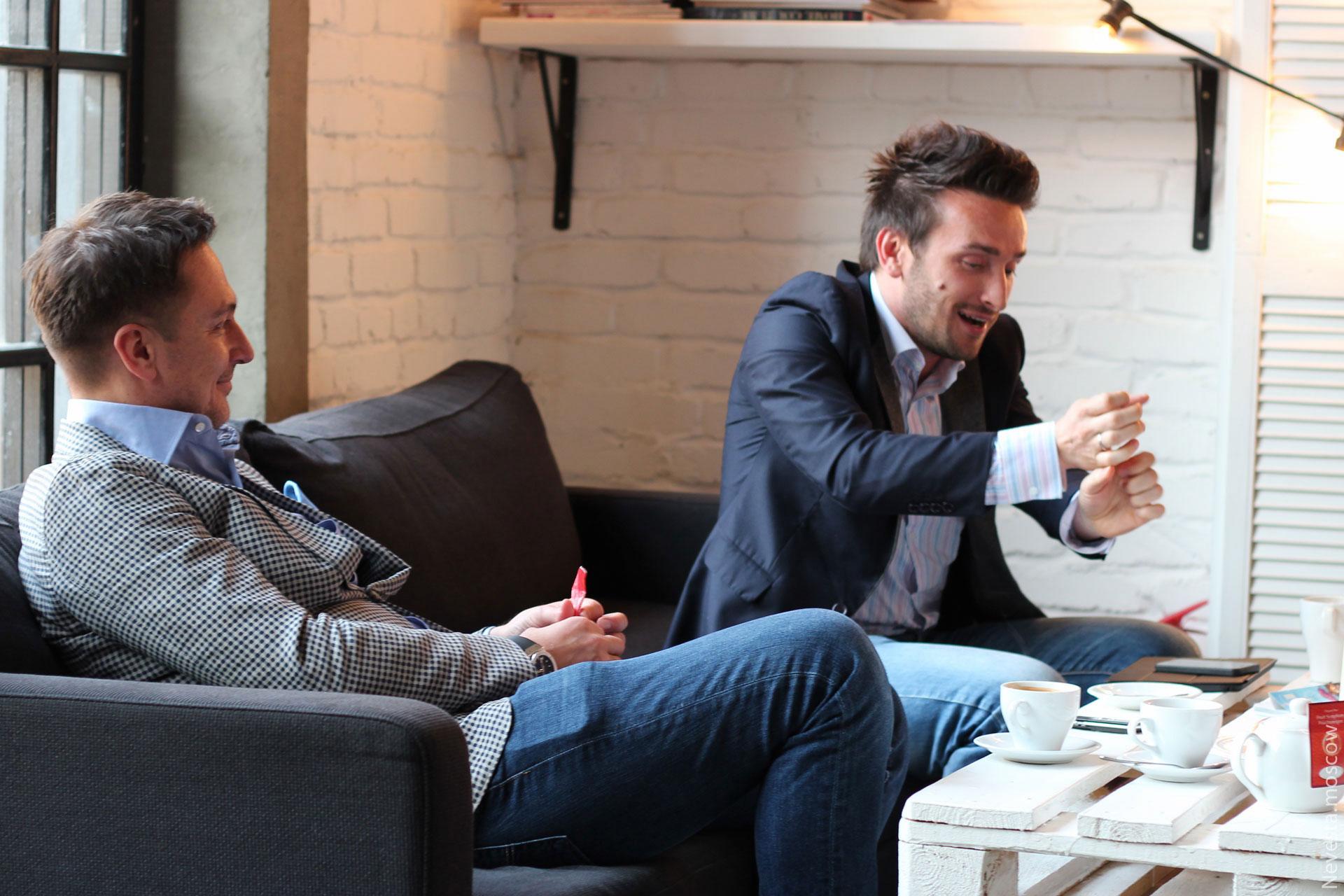 WeDoAgency: чаепитие с Егором Пироговым и Максимом Маркевичем фото 5