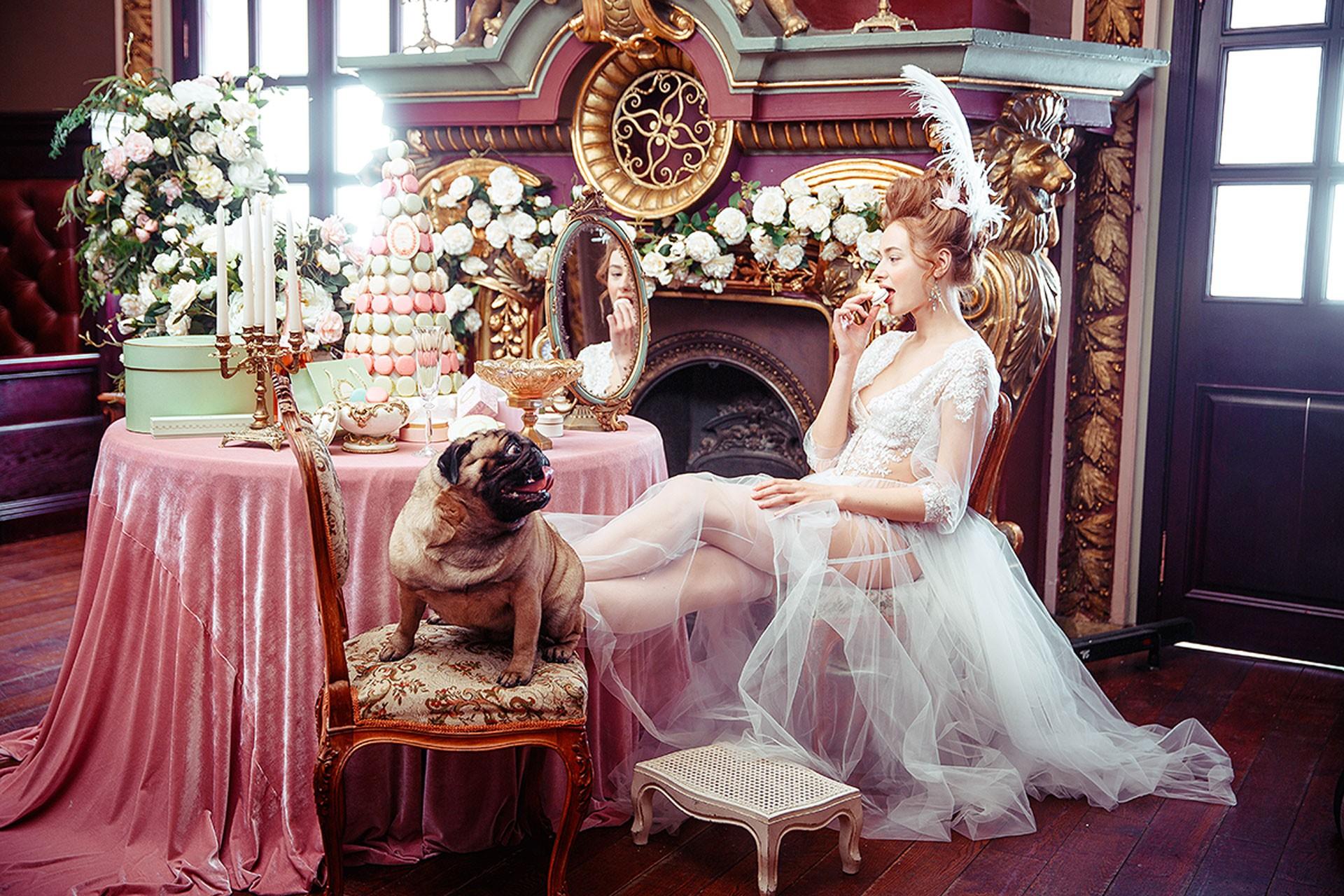 Мария-Антуанетта образ невесты фото 1