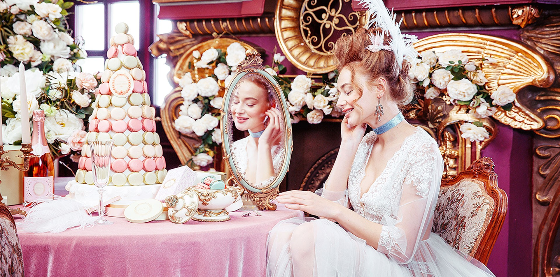 Мария-Антуанетта образ невесты фото 2