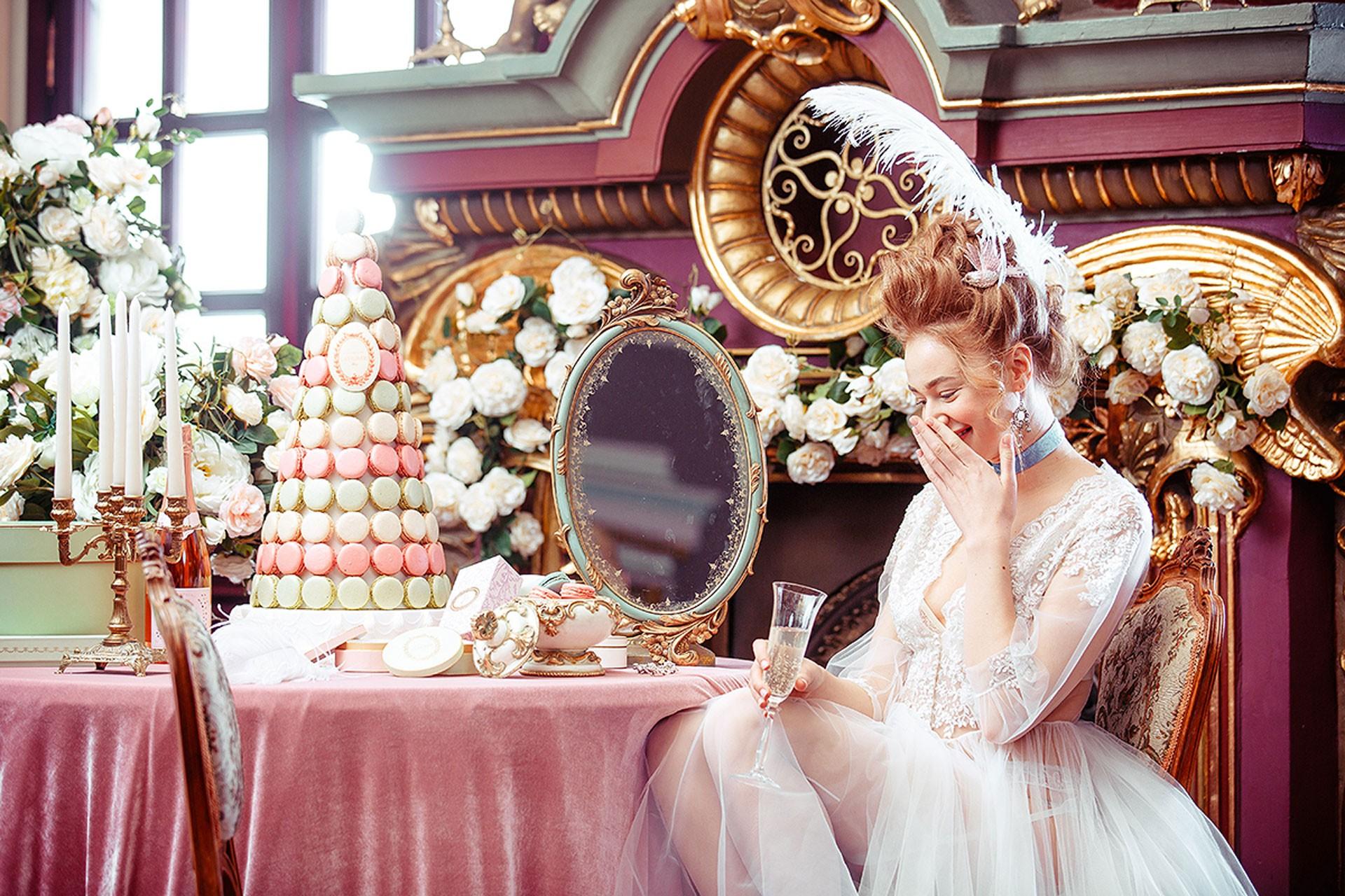 Мария-Антуанетта образ невесты фото 6