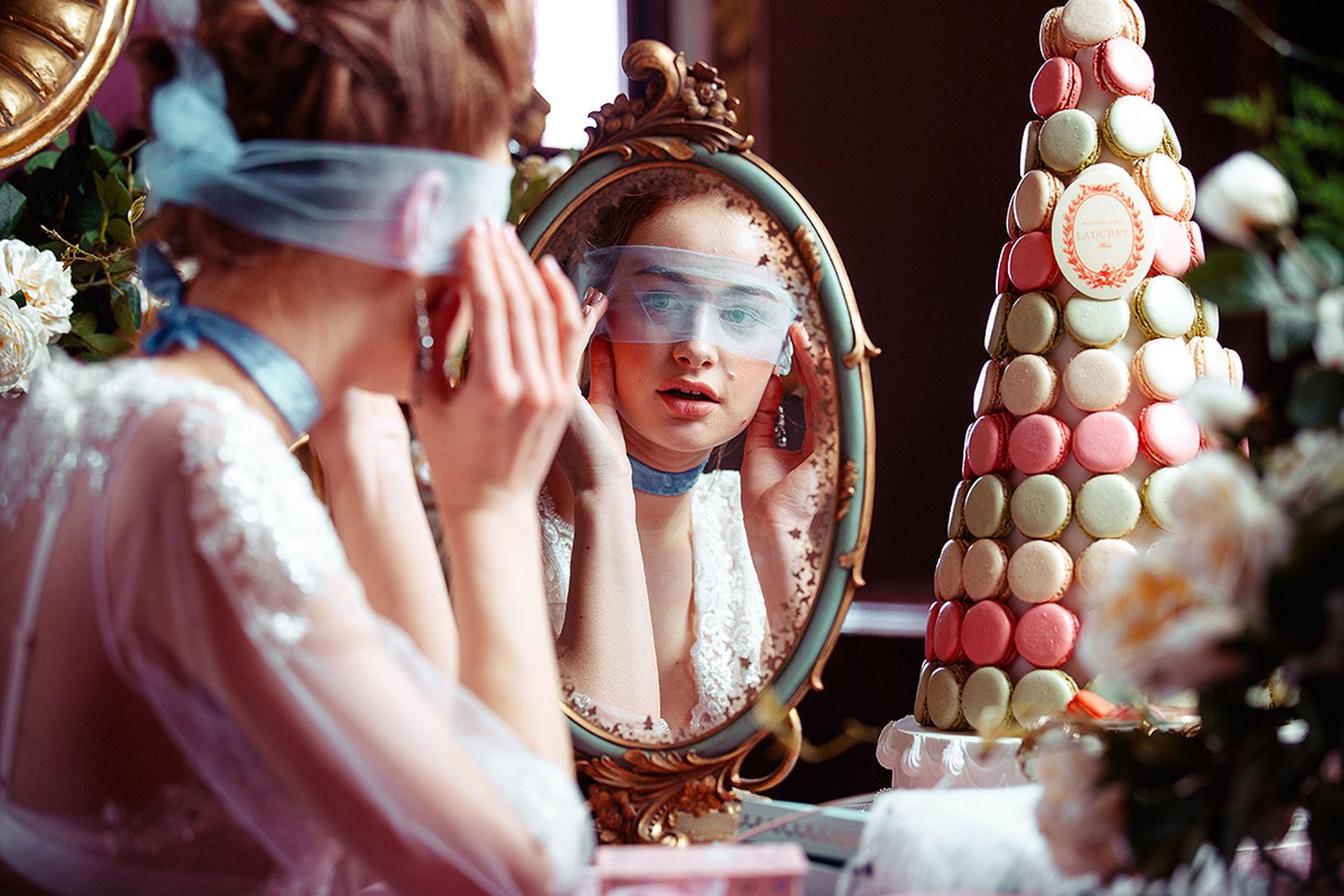 Мария-Антуанетта образ невесты фото 4
