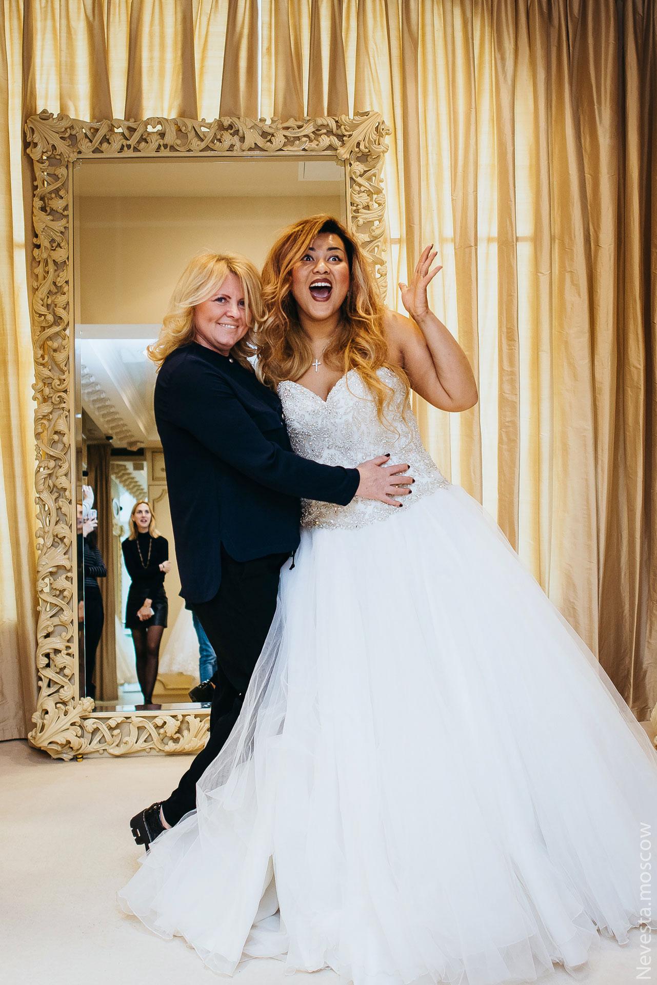 Корнелия Манго невеста свадьба выбор платья фото 1