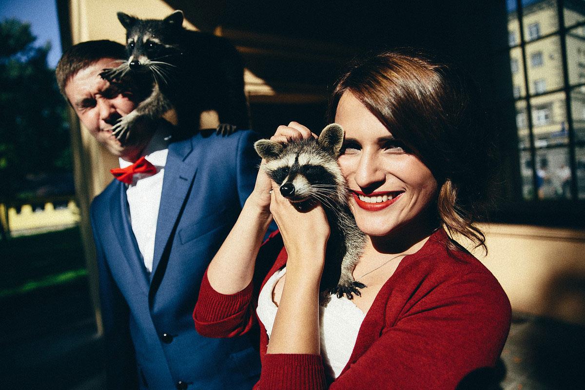 свадебная фотосессия с животными фото 17