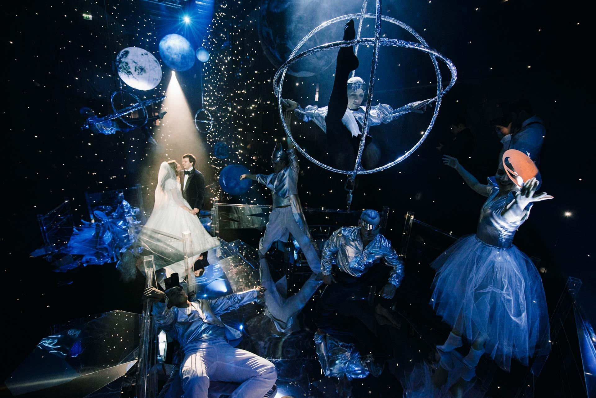 Рождение Вселенной. Свадьба Алины и Павла фото 18