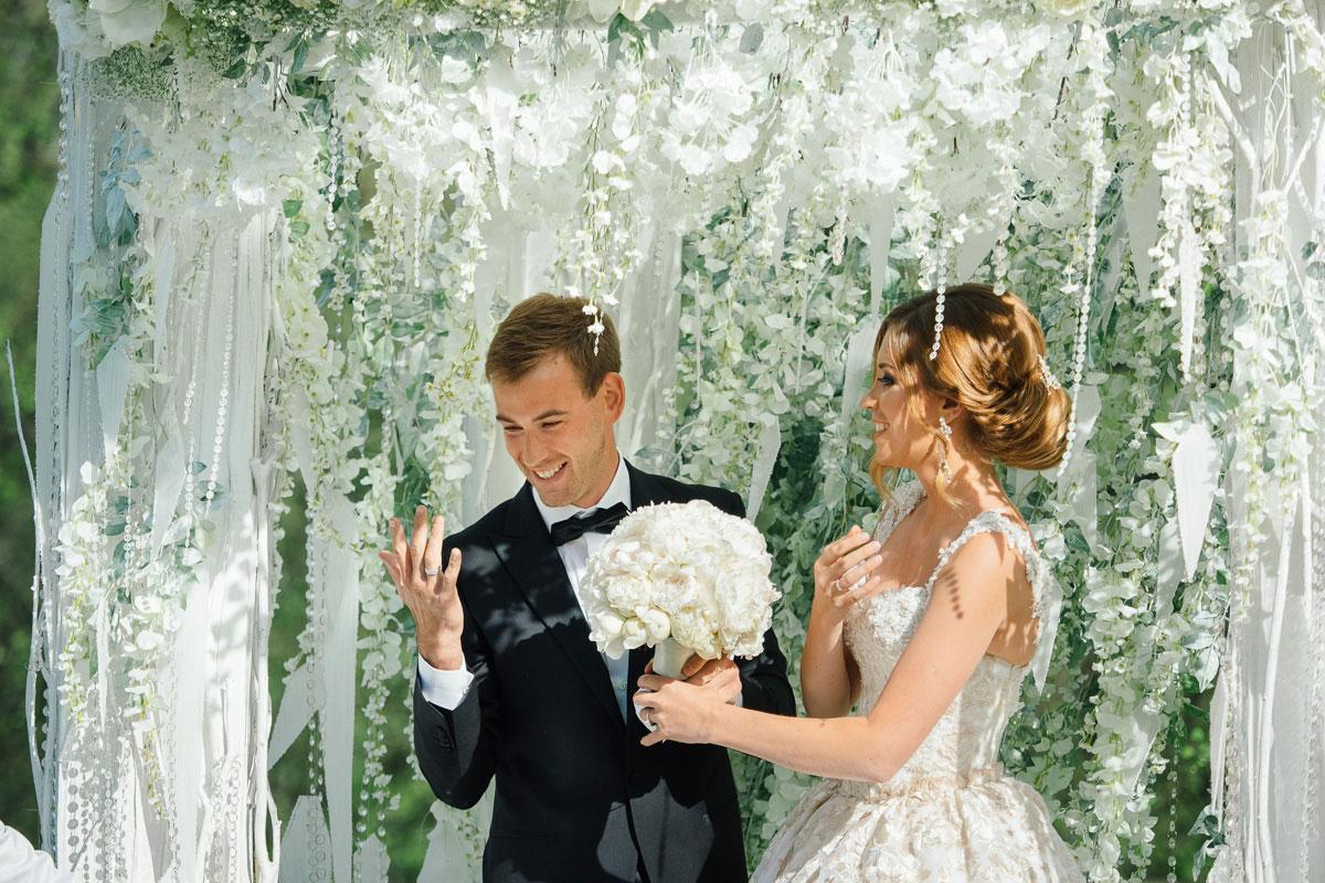 Зимняя сказка. Свадьба Дмитрия Малышко и Екатерины Тихоновой фото 10