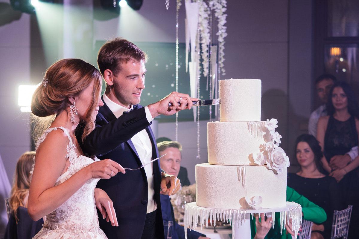 Зимняя сказка. Свадьба Дмитрия Малышко и Екатерины Тихоновой фото 16
